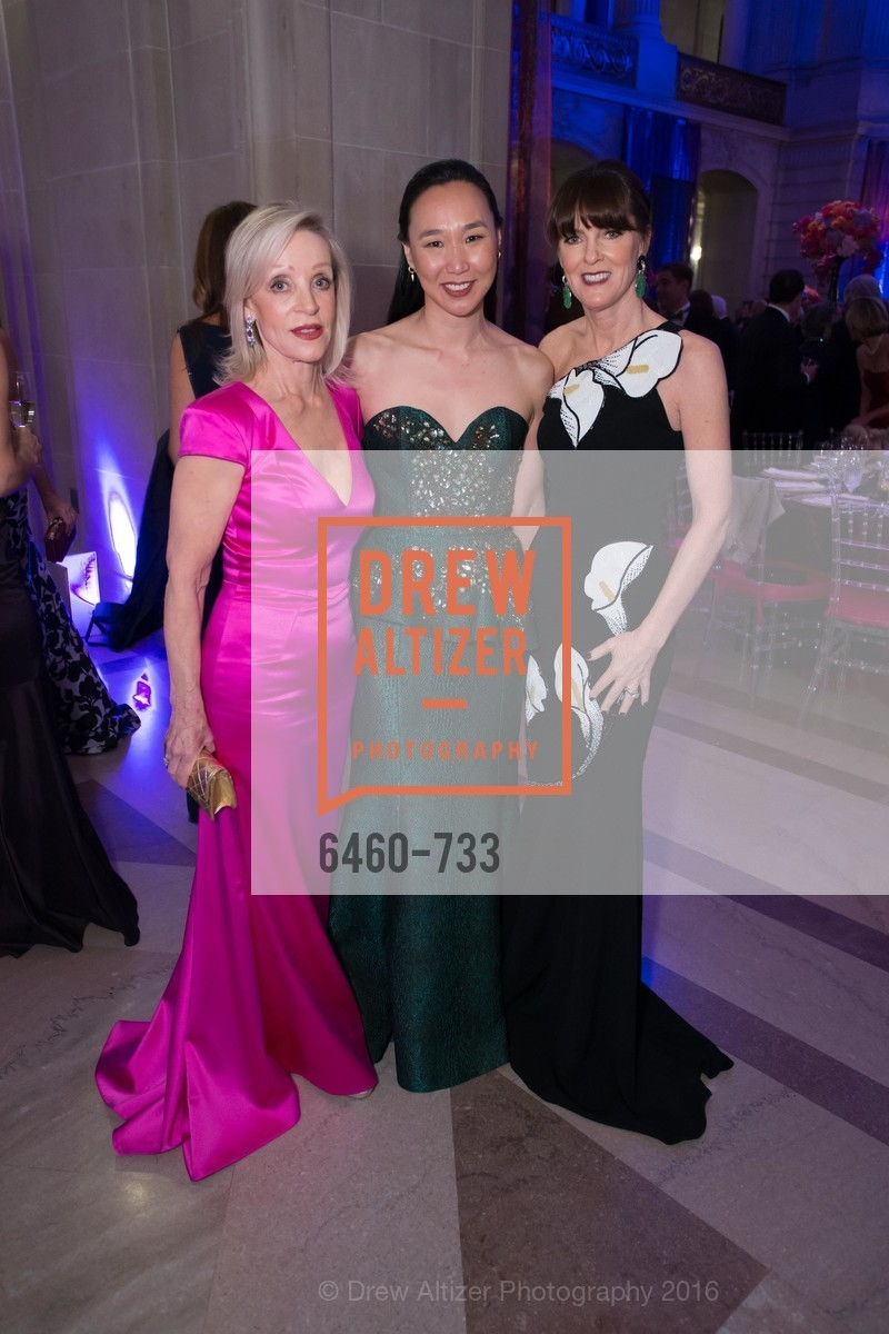 Barbara Brown, Carolyn Chang, Allison Speer, San Francisco Ballet 2016 Opening Night Gala, San Francisco City Hall. 1 Dr Carlton B Goodlett Pl, January 21st, 2016,Drew Altizer, Drew Altizer Photography, full-service agency, private events, San Francisco photographer, photographer california