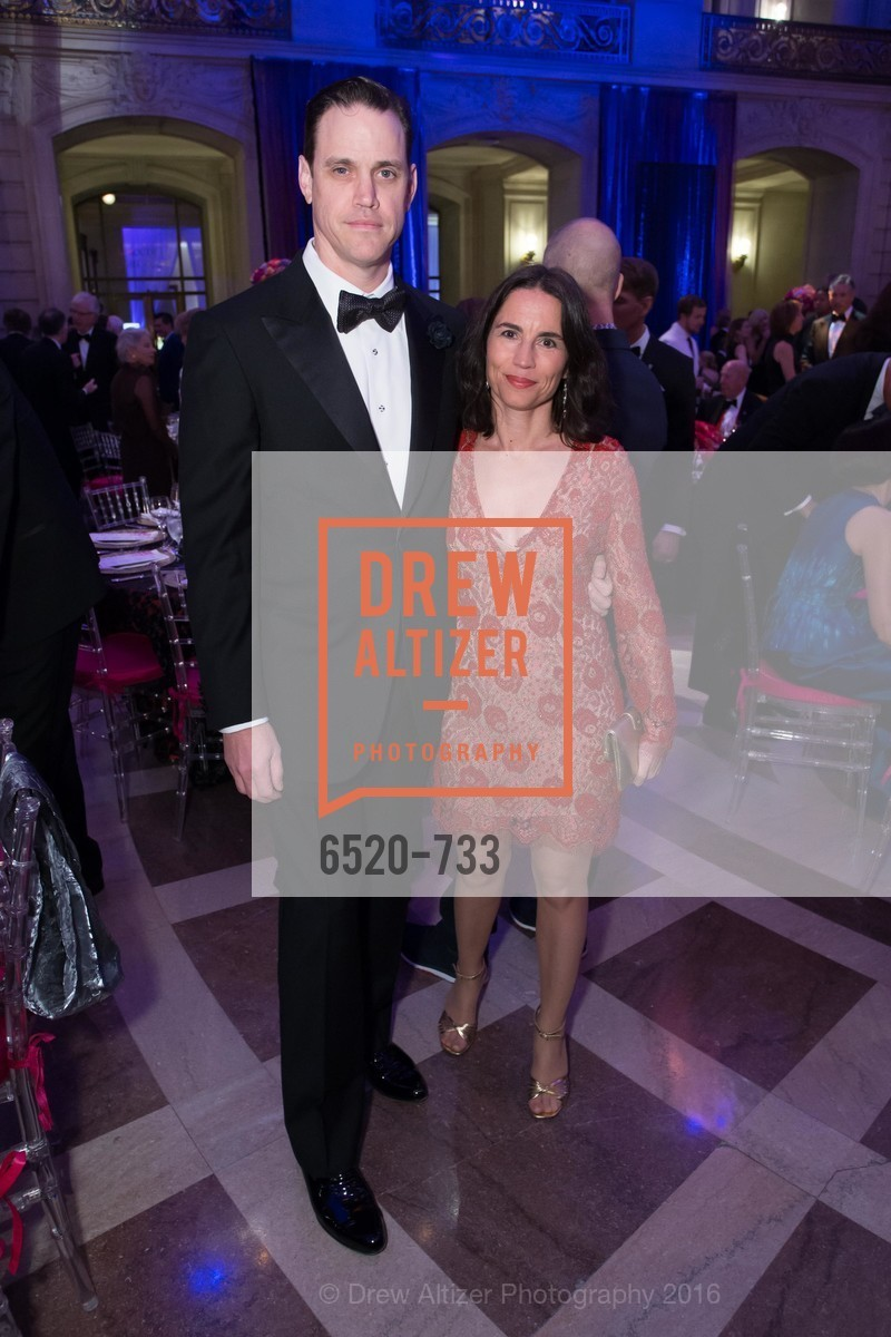 Robert Mailer Anderson, Nicola Miner, San Francisco Ballet 2016 Opening Night Gala, San Francisco City Hall. 1 Dr Carlton B Goodlett Pl, January 21st, 2016,Drew Altizer, Drew Altizer Photography, full-service agency, private events, San Francisco photographer, photographer california