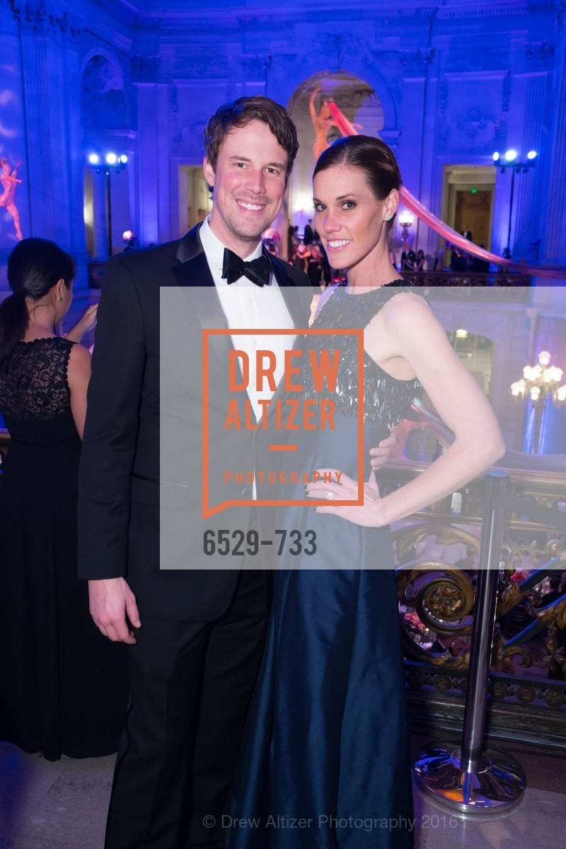 Steve McClure, Roxanne McClure, San Francisco Ballet 2016 Opening Night Gala, San Francisco City Hall. 1 Dr Carlton B Goodlett Pl, January 21st, 2016,Drew Altizer, Drew Altizer Photography, full-service agency, private events, San Francisco photographer, photographer california