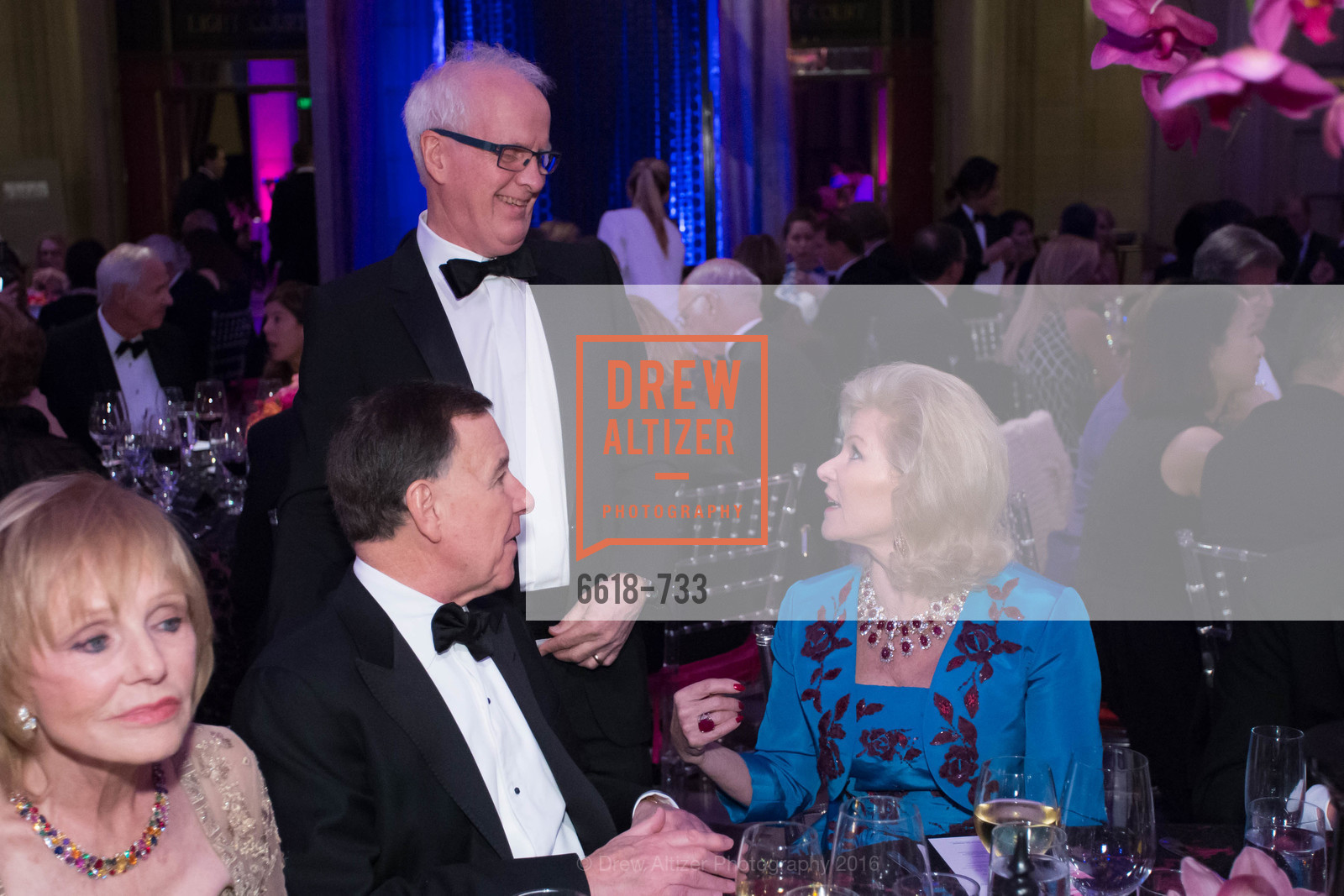 Carl Pascarella, Helgi Tomasson, Dede Wilsey, San Francisco Ballet 2016 Opening Night Gala, San Francisco City Hall. 1 Dr Carlton B Goodlett Pl, January 21st, 2016,Drew Altizer, Drew Altizer Photography, full-service agency, private events, San Francisco photographer, photographer california