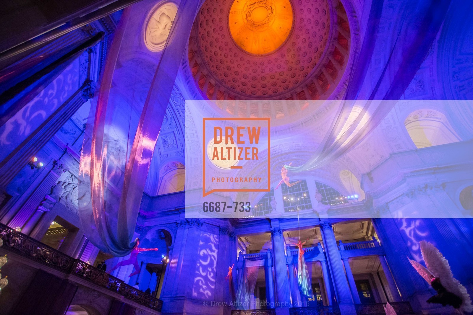 Atmosphere, San Francisco Ballet 2016 Opening Night Gala, San Francisco City Hall. 1 Dr Carlton B Goodlett Pl, January 21st, 2016,Drew Altizer, Drew Altizer Photography, full-service event agency, private events, San Francisco photographer, photographer California