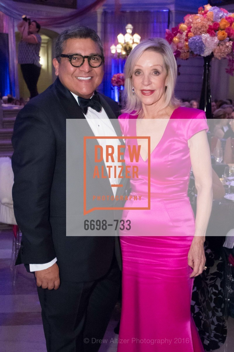Riccardo Benavides, Barbara Brown, San Francisco Ballet 2016 Opening Night Gala, San Francisco City Hall. 1 Dr Carlton B Goodlett Pl, January 21st, 2016,Drew Altizer, Drew Altizer Photography, full-service agency, private events, San Francisco photographer, photographer california
