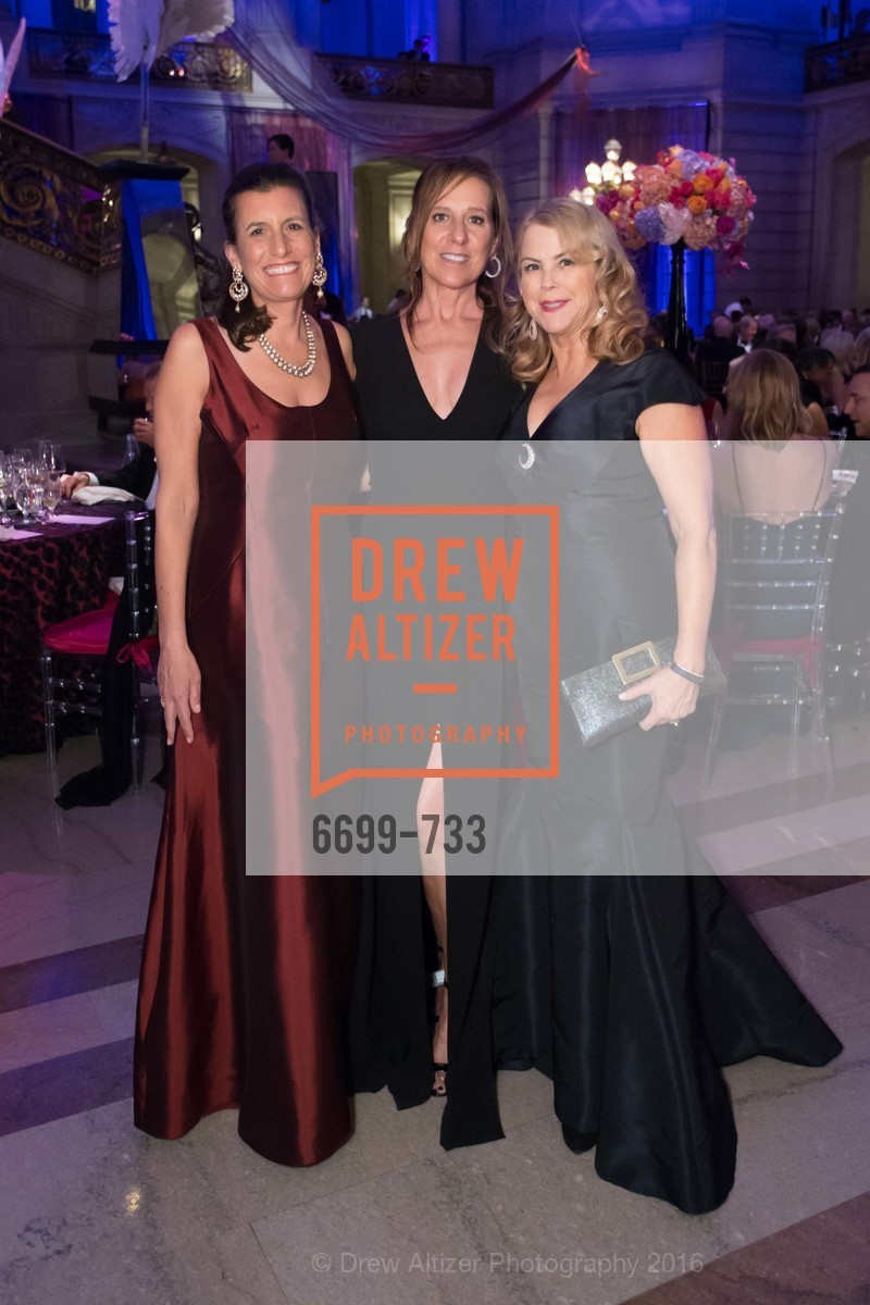 Bettina Duvall, Jill Reburg Haymer, Nonie Greene, San Francisco Ballet 2016 Opening Night Gala, San Francisco City Hall. 1 Dr Carlton B Goodlett Pl, January 21st, 2016,Drew Altizer, Drew Altizer Photography, full-service agency, private events, San Francisco photographer, photographer california