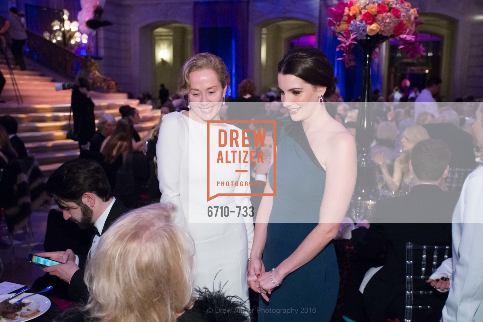 Catherine Slovonia, Kelsey Lamond, San Francisco Ballet 2016 Opening Night Gala, San Francisco City Hall. 1 Dr Carlton B Goodlett Pl, January 21st, 2016,Drew Altizer, Drew Altizer Photography, full-service agency, private events, San Francisco photographer, photographer california