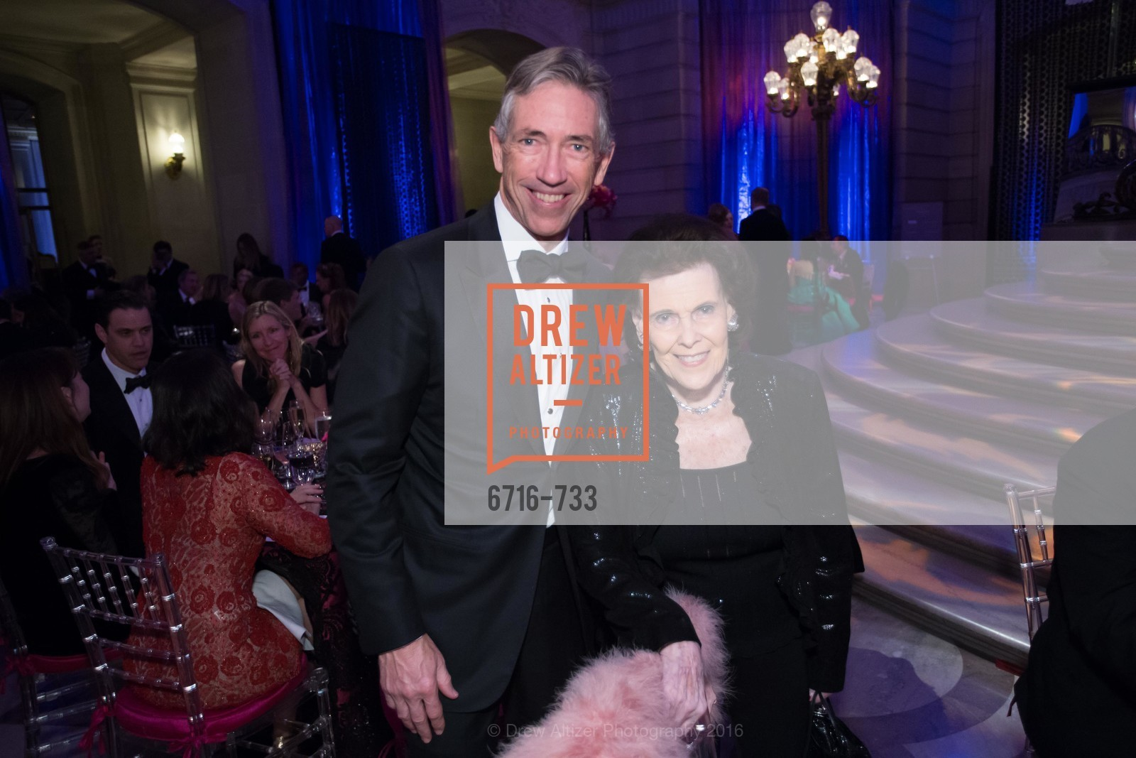 Matt Barger, Lucy Jewett, San Francisco Ballet 2016 Opening Night Gala, San Francisco City Hall. 1 Dr Carlton B Goodlett Pl, January 21st, 2016,Drew Altizer, Drew Altizer Photography, full-service agency, private events, San Francisco photographer, photographer california