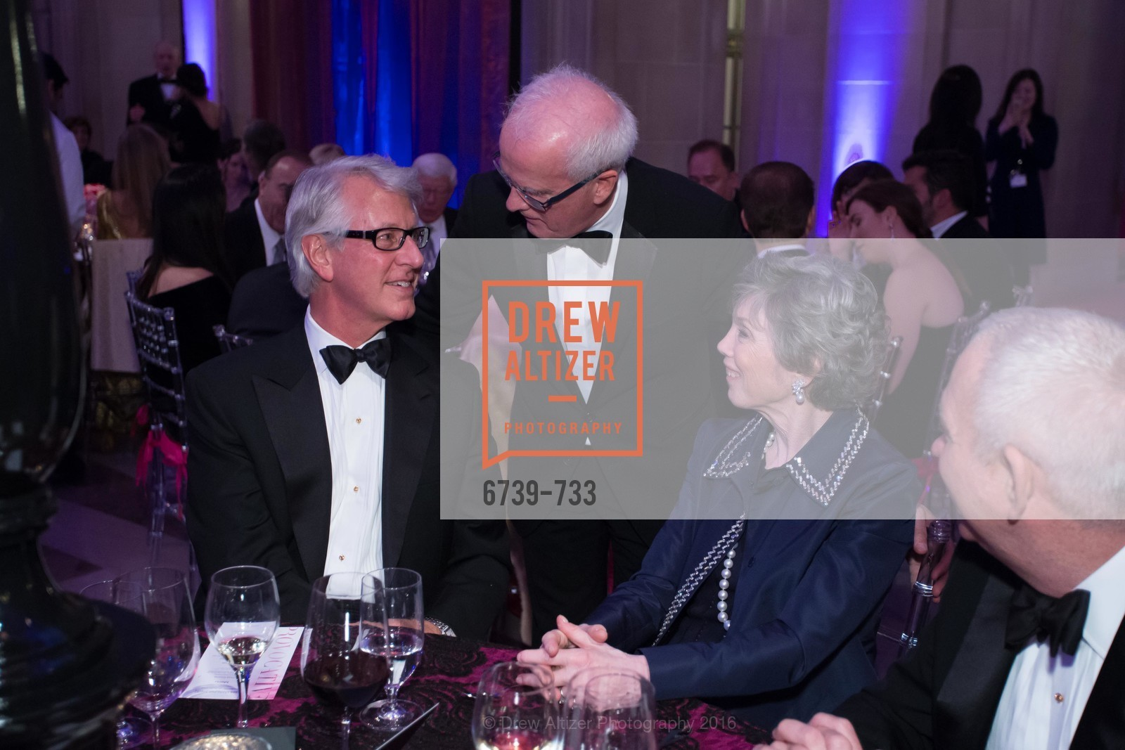 Jeff Hays, Helgi Tomasson, Carol Hays, San Francisco Ballet 2016 Opening Night Gala, San Francisco City Hall. 1 Dr Carlton B Goodlett Pl, January 21st, 2016,Drew Altizer, Drew Altizer Photography, full-service agency, private events, San Francisco photographer, photographer california