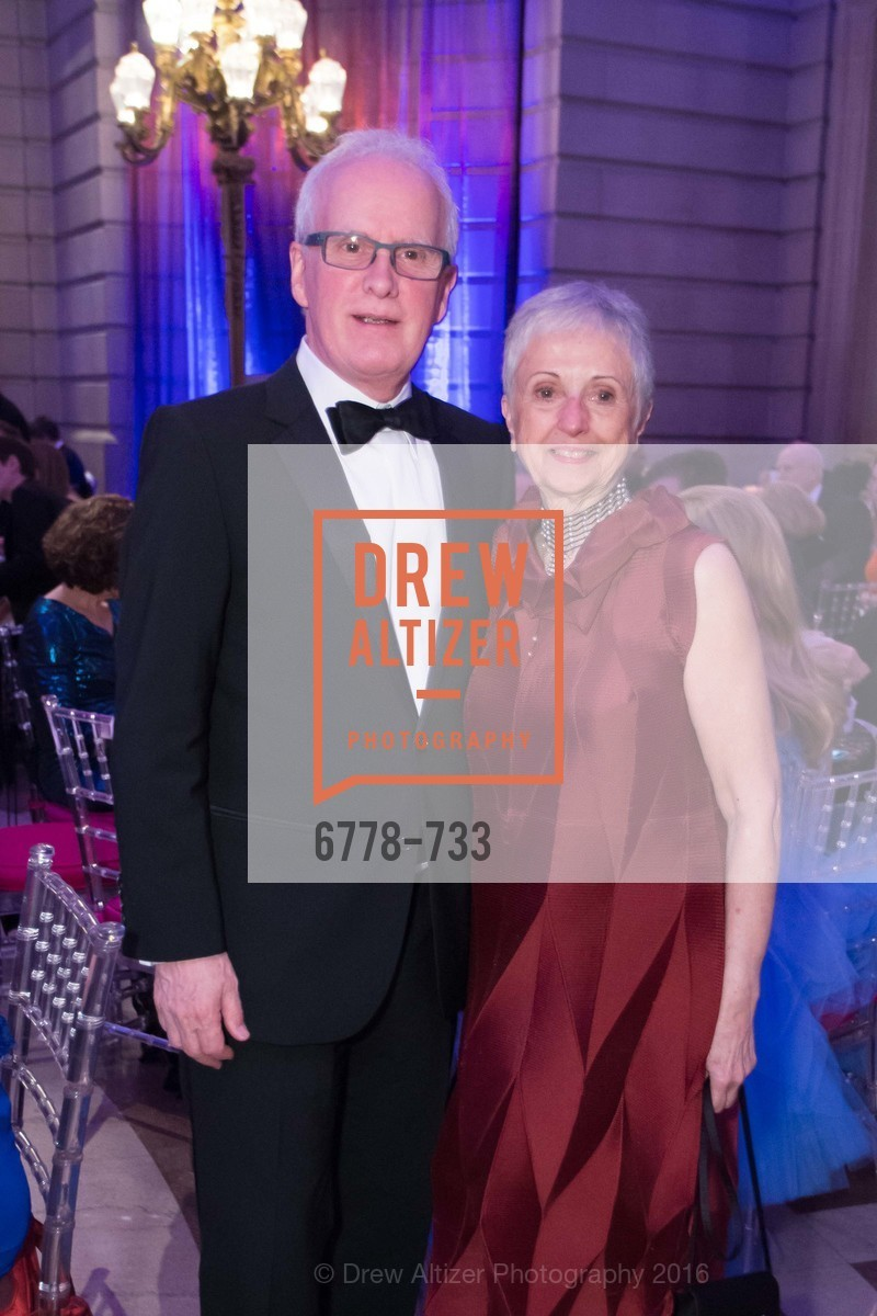 Helgi Tomasson, Marlene Tomasson, San Francisco Ballet 2016 Opening Night Gala, San Francisco City Hall. 1 Dr Carlton B Goodlett Pl, January 21st, 2016,Drew Altizer, Drew Altizer Photography, full-service agency, private events, San Francisco photographer, photographer california