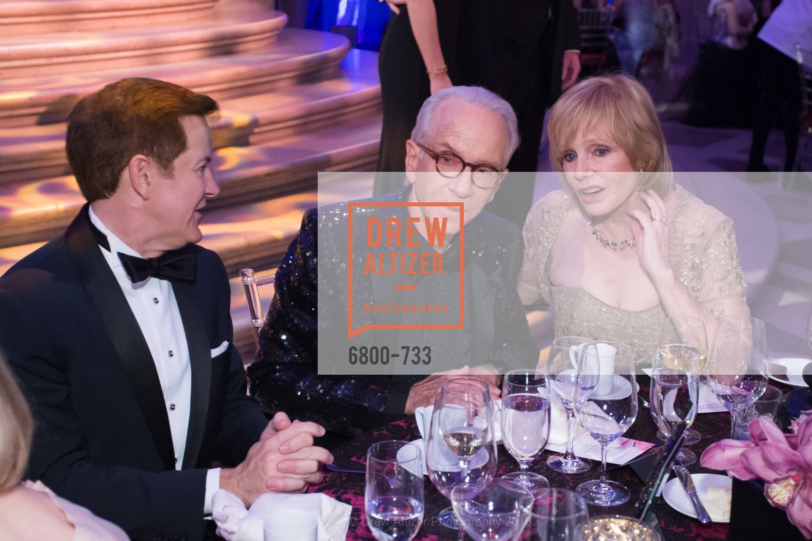 Trent Norris, Norman Stone, Mary Jo Kovacevich, San Francisco Ballet 2016 Opening Night Gala, San Francisco City Hall. 1 Dr Carlton B Goodlett Pl, January 21st, 2016,Drew Altizer, Drew Altizer Photography, full-service agency, private events, San Francisco photographer, photographer california