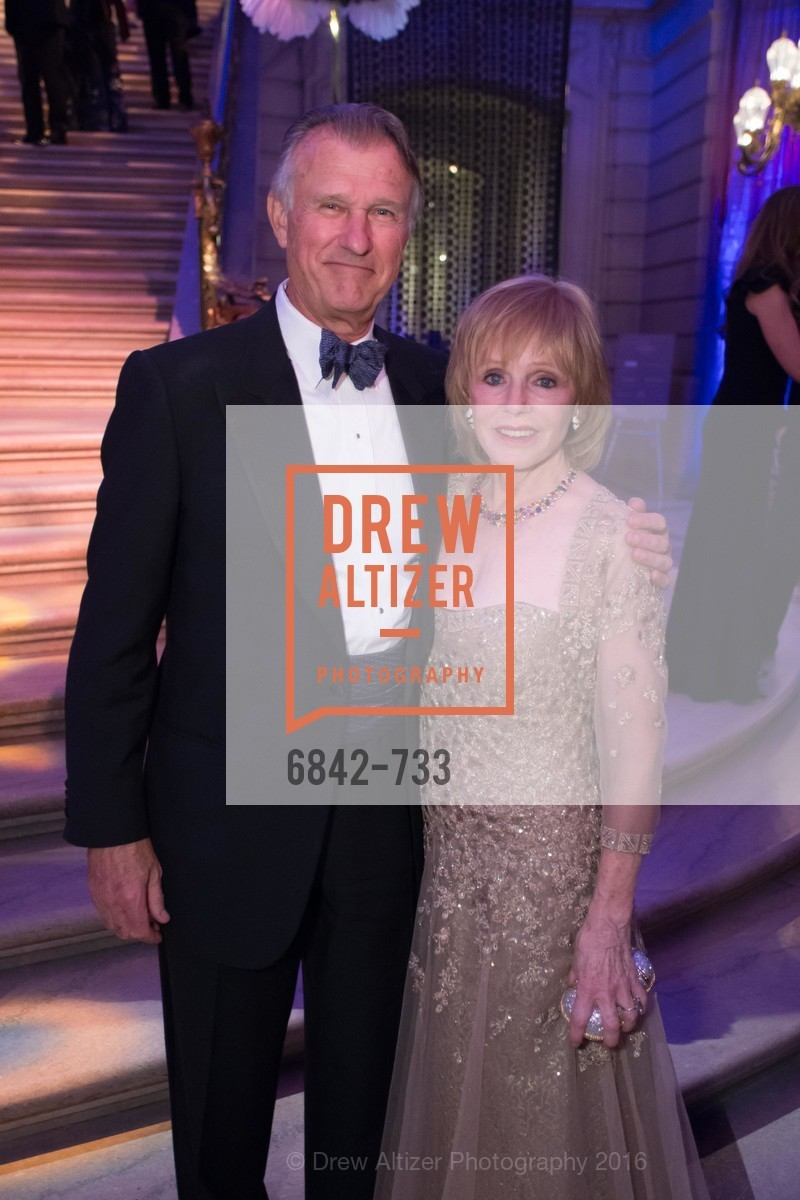 Dick Kovacevich, Mary Jo Kovacevich, San Francisco Ballet 2016 Opening Night Gala, San Francisco City Hall. 1 Dr Carlton B Goodlett Pl, January 21st, 2016,Drew Altizer, Drew Altizer Photography, full-service agency, private events, San Francisco photographer, photographer california