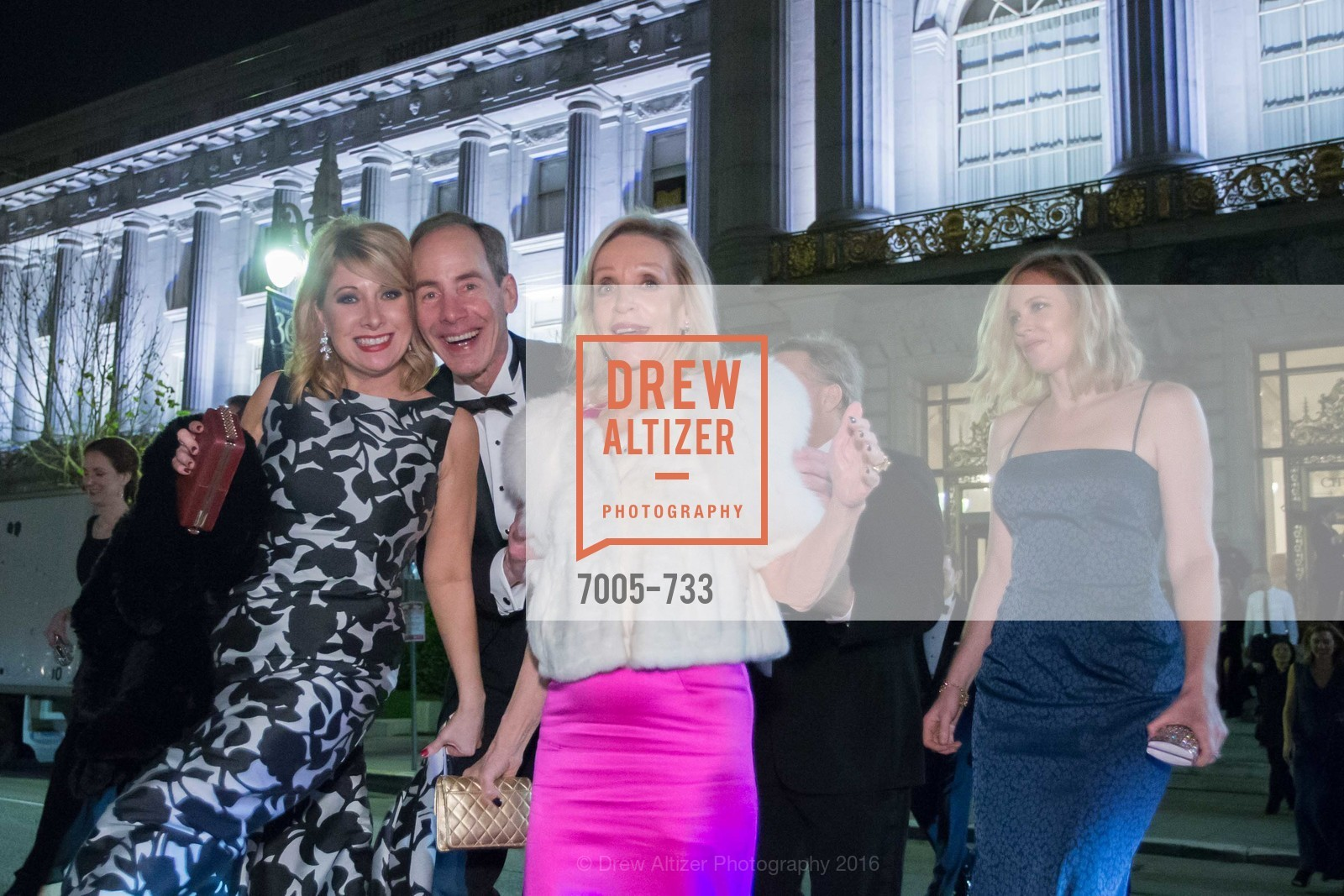 Jennifer Mancuso, Todd Werby, Barbara Brown, San Francisco Ballet 2016 Opening Night Gala, San Francisco City Hall. 1 Dr Carlton B Goodlett Pl, January 21st, 2016,Drew Altizer, Drew Altizer Photography, full-service agency, private events, San Francisco photographer, photographer california