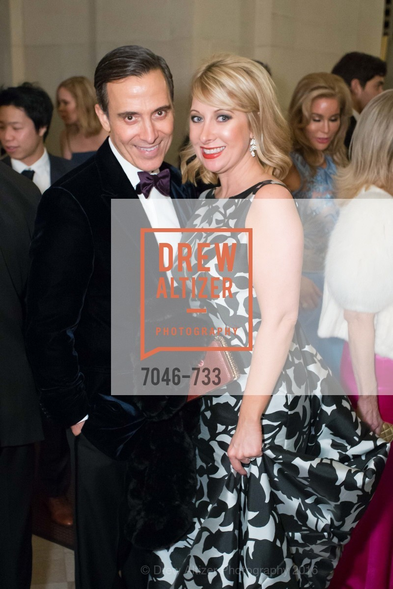 Alan Malouf, Jennifer Mancuso, San Francisco Ballet 2016 Opening Night Gala, San Francisco City Hall. 1 Dr Carlton B Goodlett Pl, January 21st, 2016,Drew Altizer, Drew Altizer Photography, full-service agency, private events, San Francisco photographer, photographer california