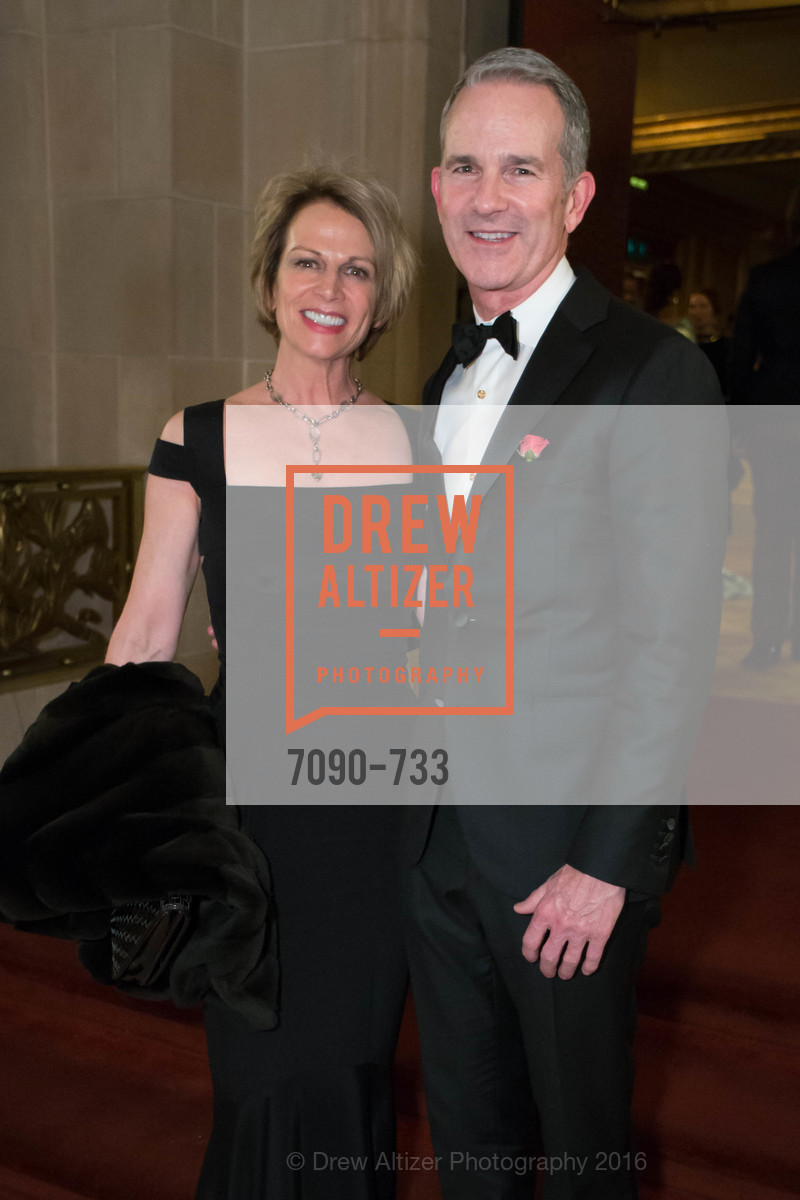 Susan Basinet, Jeffery Gibson, San Francisco Ballet 2016 Opening Night Gala, San Francisco City Hall. 1 Dr Carlton B Goodlett Pl, January 21st, 2016,Drew Altizer, Drew Altizer Photography, full-service agency, private events, San Francisco photographer, photographer california