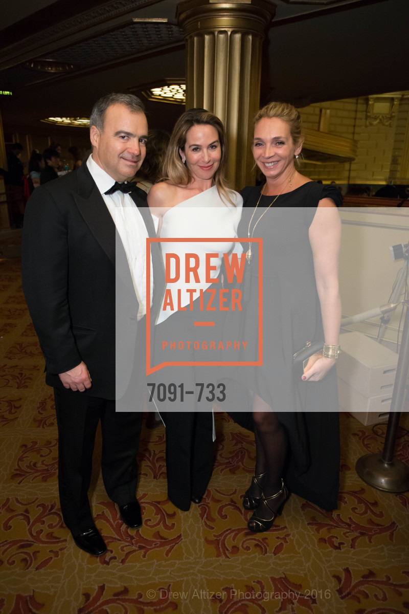 JP Conte, Hillary Ames, Victoire Reynal Brown, San Francisco Ballet 2016 Opening Night Gala, San Francisco City Hall. 1 Dr Carlton B Goodlett Pl, January 21st, 2016,Drew Altizer, Drew Altizer Photography, full-service agency, private events, San Francisco photographer, photographer california