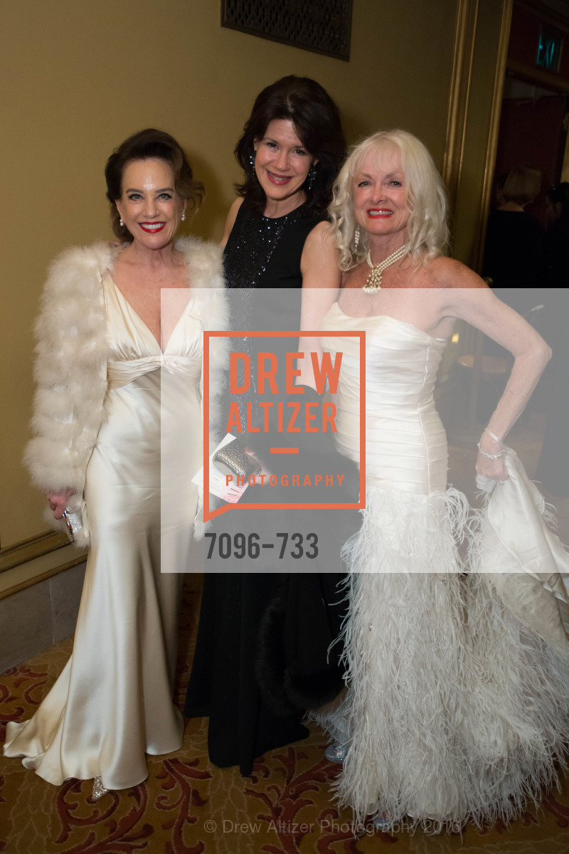 Robin Collins, Elaine Mellis, Andi Valluaspina, San Francisco Ballet 2016 Opening Night Gala, San Francisco City Hall. 1 Dr Carlton B Goodlett Pl, January 21st, 2016,Drew Altizer, Drew Altizer Photography, full-service agency, private events, San Francisco photographer, photographer california