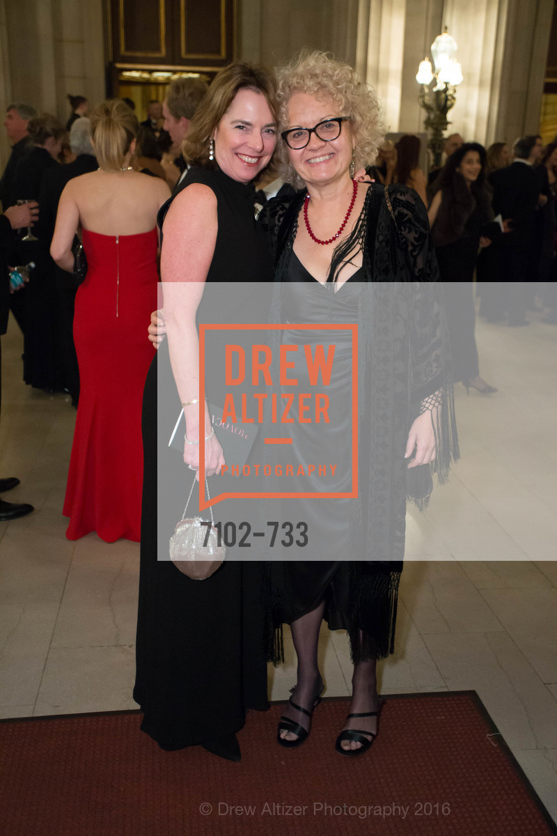 Annie Decassi, Janet Carter, San Francisco Ballet 2016 Opening Night Gala, San Francisco City Hall. 1 Dr Carlton B Goodlett Pl, January 21st, 2016,Drew Altizer, Drew Altizer Photography, full-service agency, private events, San Francisco photographer, photographer california