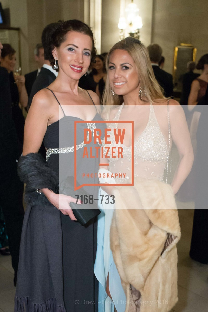 Elena Zorn, Ashley Soveyn, San Francisco Ballet 2016 Opening Night Gala, San Francisco City Hall. 1 Dr Carlton B Goodlett Pl, January 21st, 2016,Drew Altizer, Drew Altizer Photography, full-service agency, private events, San Francisco photographer, photographer california
