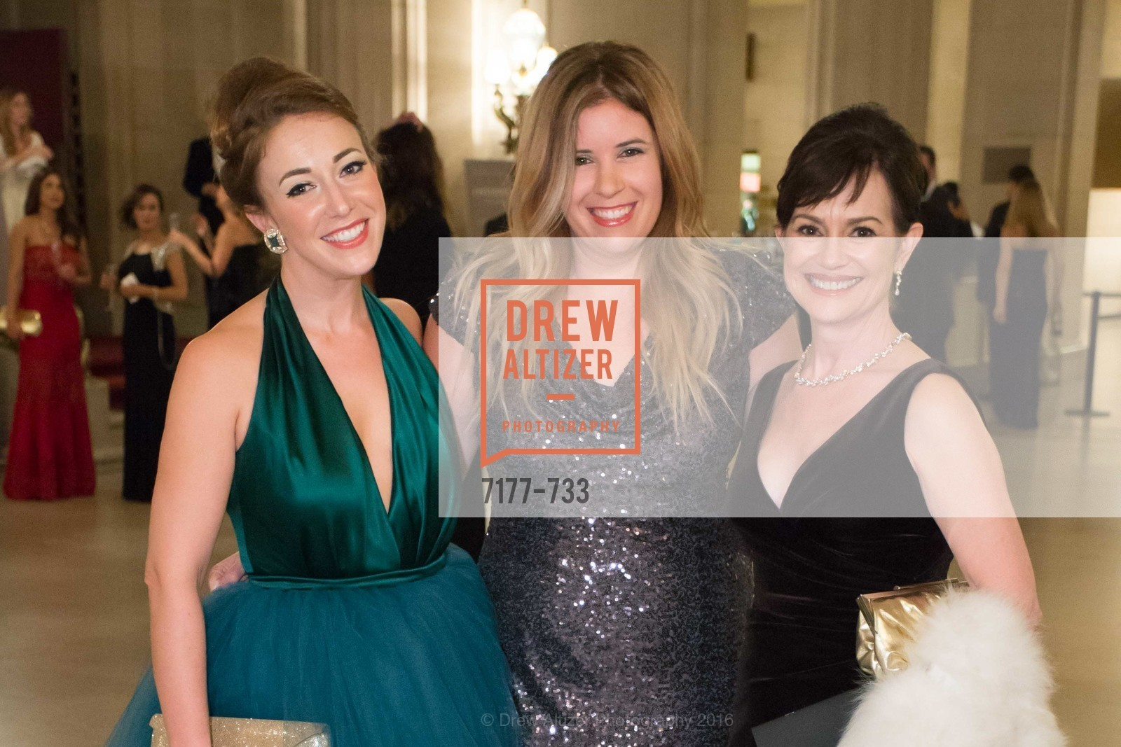 Schuyler Hudak, Ashley de Smeth, V'Anne Singleton, San Francisco Ballet 2016 Opening Night Gala, San Francisco City Hall. 1 Dr Carlton B Goodlett Pl, January 21st, 2016,Drew Altizer, Drew Altizer Photography, full-service agency, private events, San Francisco photographer, photographer california