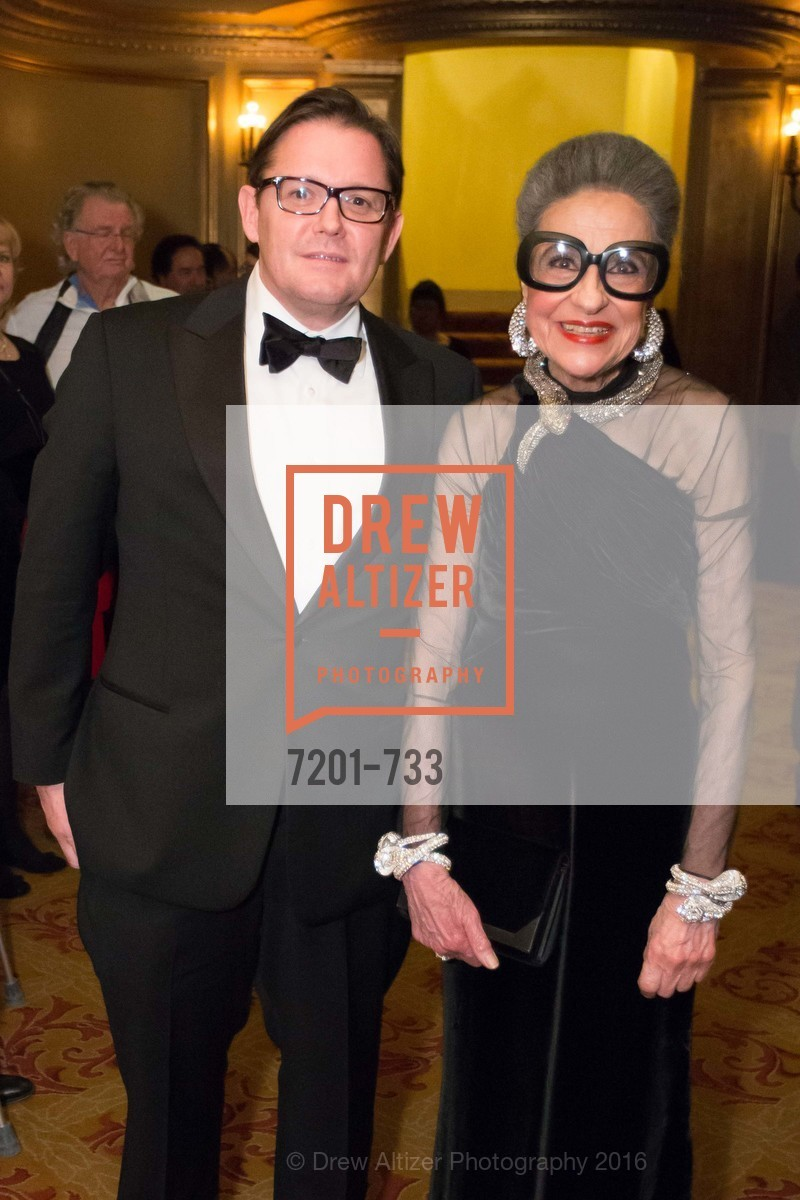 Michael Manning, Joy Venturini Bianchi, San Francisco Ballet 2016 Opening Night Gala, San Francisco City Hall. 1 Dr Carlton B Goodlett Pl, January 21st, 2016,Drew Altizer, Drew Altizer Photography, full-service agency, private events, San Francisco photographer, photographer california