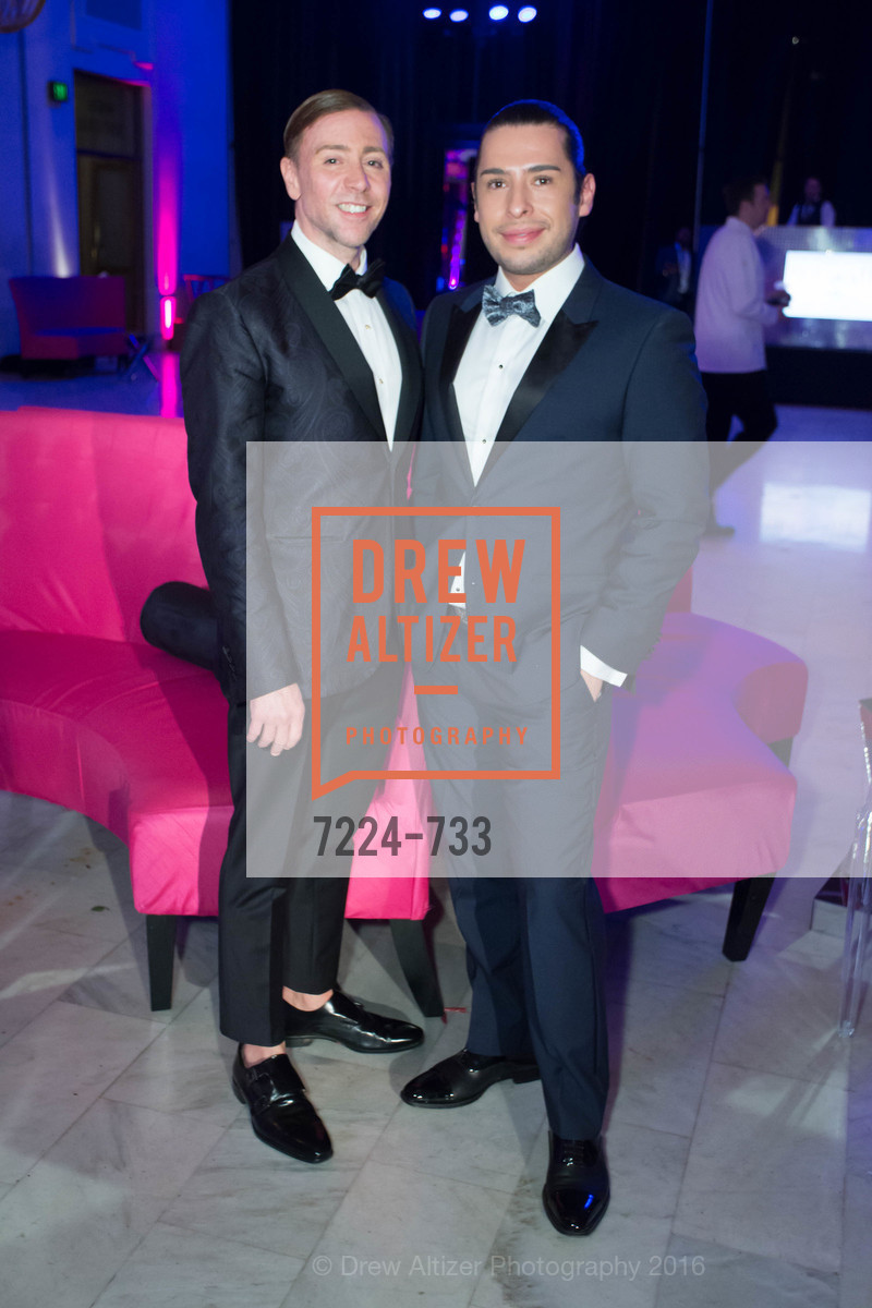 Mark Rhoades, Hektor Vargas, San Francisco Ballet 2016 Opening Night Gala, San Francisco City Hall. 1 Dr Carlton B Goodlett Pl, January 21st, 2016,Drew Altizer, Drew Altizer Photography, full-service agency, private events, San Francisco photographer, photographer california
