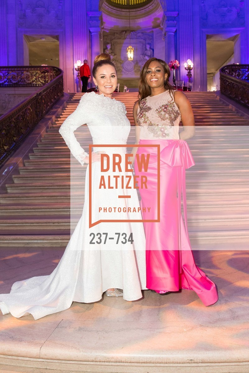 Judy Davies, Vanessa Jean-Baptiste, San Francisco Ballet 2016 ENCORE! Opening Night Gala, San Francisco City Hall. 1 Dr Carlton B Goodlett Pl, January 21st, 2016,Drew Altizer, Drew Altizer Photography, full-service agency, private events, San Francisco photographer, photographer california
