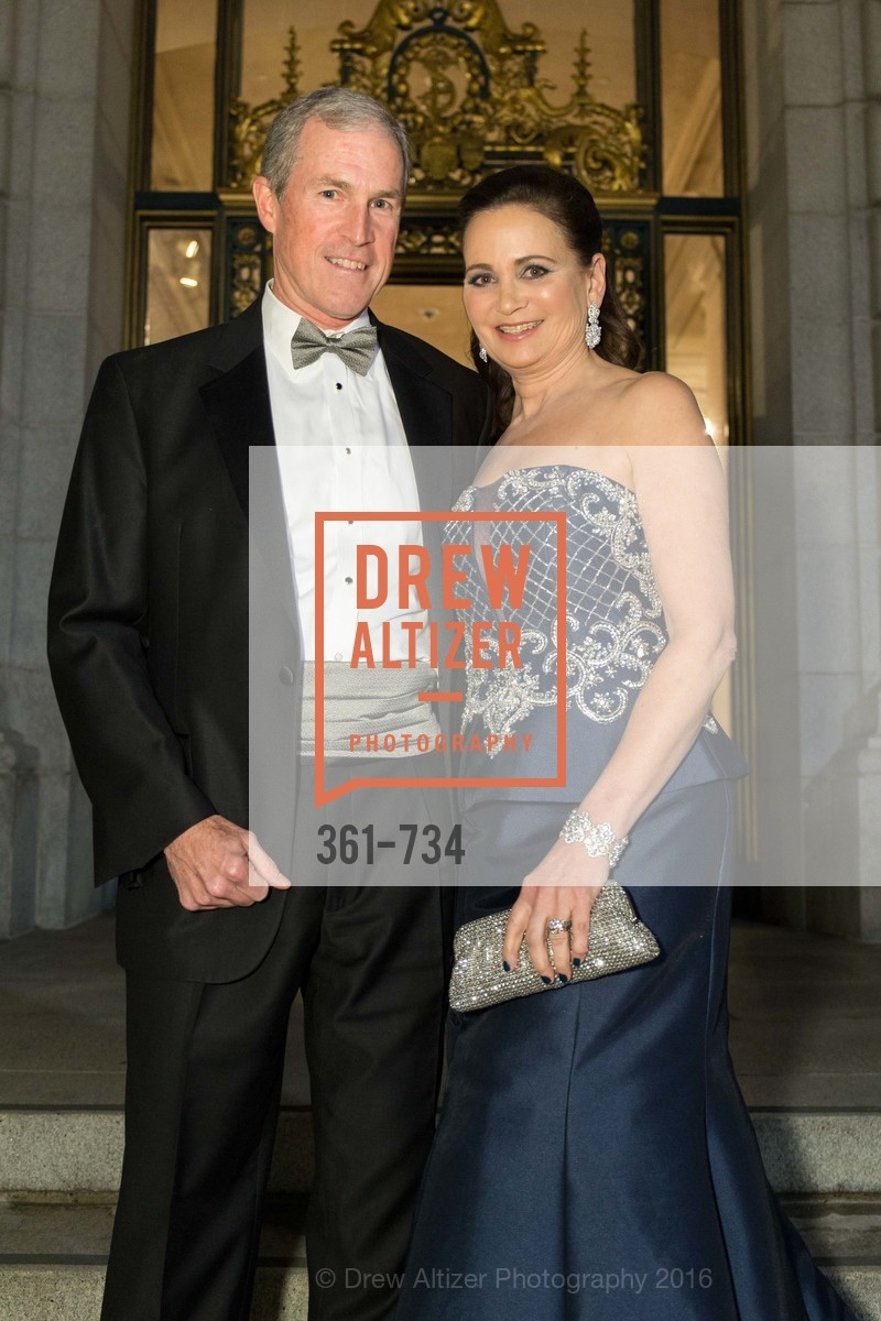 Kurt Burkhard, Jane Burkhard, San Francisco Ballet 2016 ENCORE! Opening Night Gala, San Francisco City Hall. 1 Dr Carlton B Goodlett Pl, January 21st, 2016,Drew Altizer, Drew Altizer Photography, full-service agency, private events, San Francisco photographer, photographer california