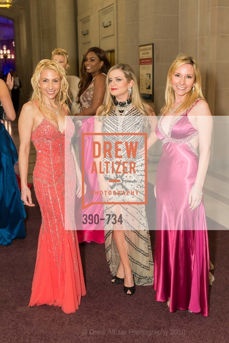 Robin Farmanfarmaian, Julie Hall, Valentina Morigi, San Francisco Ballet 2016 ENCORE! Opening Night Gala, San Francisco City Hall. 1 Dr Carlton B Goodlett Pl, January 21st, 2016,Drew Altizer, Drew Altizer Photography, full-service agency, private events, San Francisco photographer, photographer california