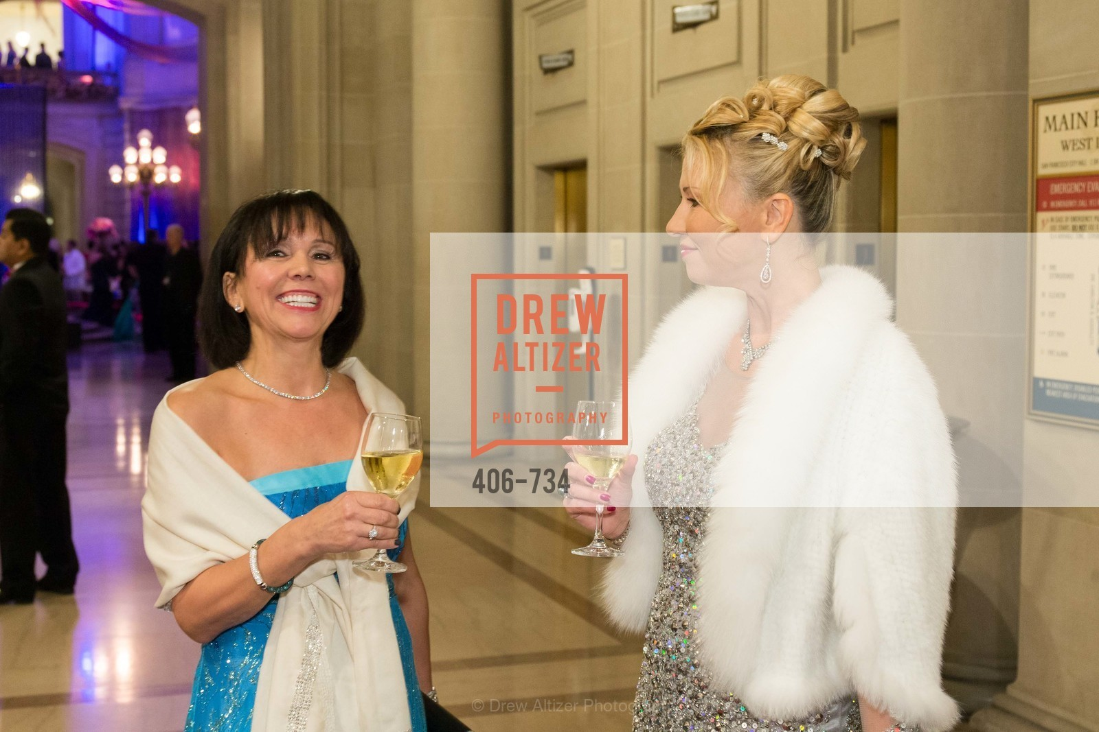 Barbara Cartier, Lena Gikkas, San Francisco Ballet 2016 ENCORE! Opening Night Gala, San Francisco City Hall. 1 Dr Carlton B Goodlett Pl, January 21st, 2016,Drew Altizer, Drew Altizer Photography, full-service agency, private events, San Francisco photographer, photographer california