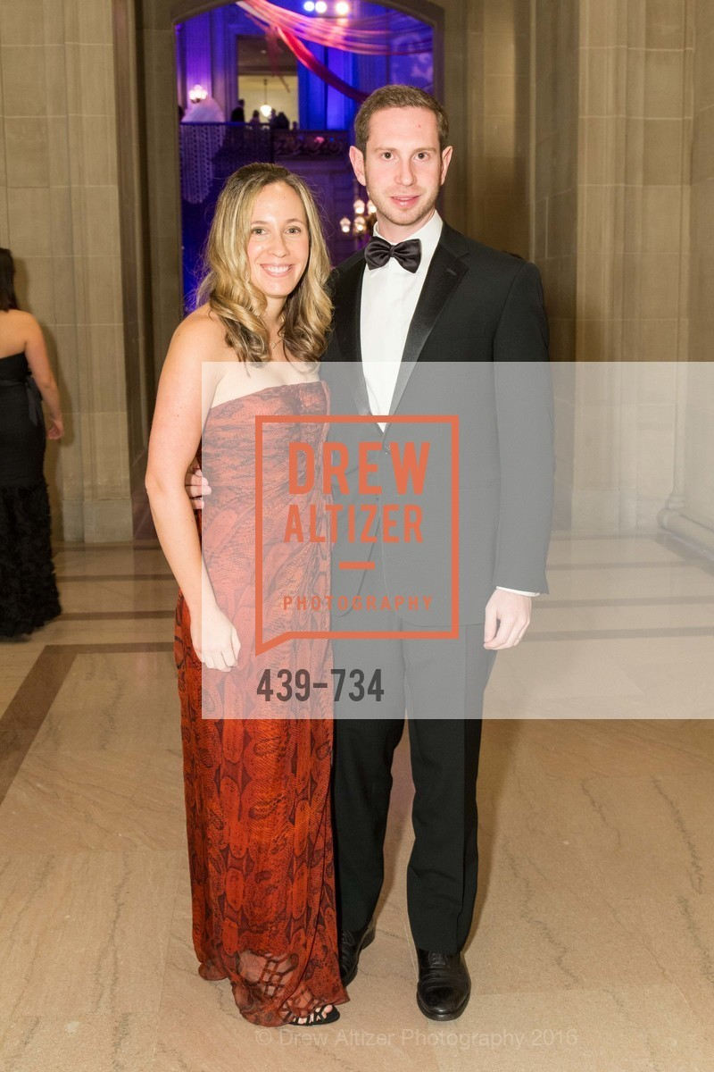 Nitzan Miller, Josh Miller, San Francisco Ballet 2016 ENCORE! Opening Night Gala, San Francisco City Hall. 1 Dr Carlton B Goodlett Pl, January 21st, 2016,Drew Altizer, Drew Altizer Photography, full-service agency, private events, San Francisco photographer, photographer california