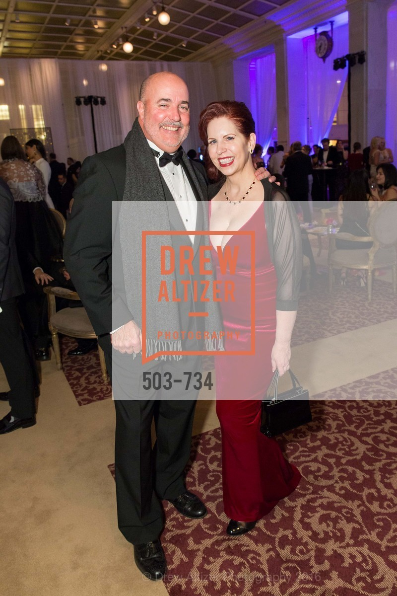John Hanley, Karen Newton, San Francisco Ballet 2016 ENCORE! Opening Night Gala, San Francisco City Hall. 1 Dr Carlton B Goodlett Pl, January 21st, 2016,Drew Altizer, Drew Altizer Photography, full-service agency, private events, San Francisco photographer, photographer california