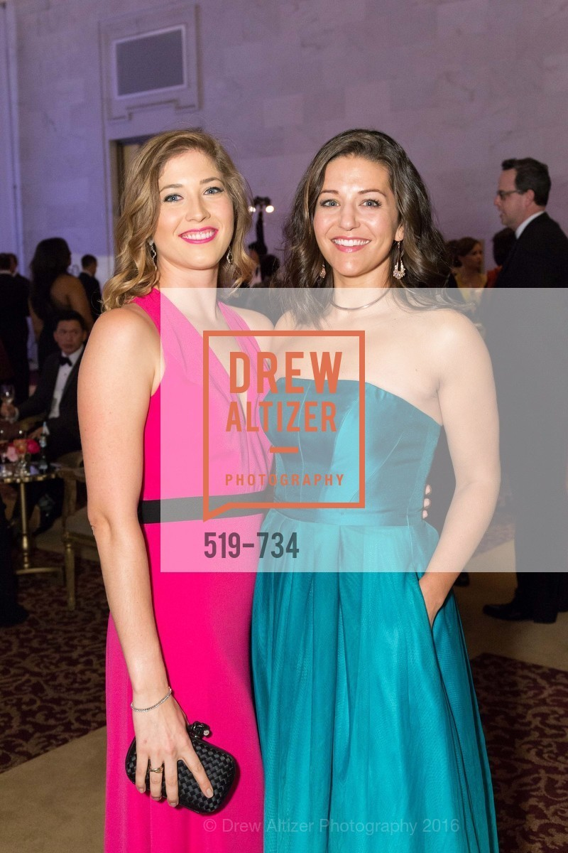 Victoria Weatherford, Megan Cesare, San Francisco Ballet 2016 ENCORE! Opening Night Gala, San Francisco City Hall. 1 Dr Carlton B Goodlett Pl, January 21st, 2016,Drew Altizer, Drew Altizer Photography, full-service event agency, private events, San Francisco photographer, photographer California