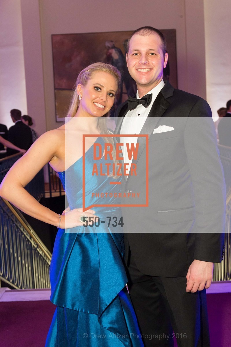 Elizabeth Sgarrella, David Schmidt, San Francisco Ballet 2016 ENCORE! Opening Night Gala, San Francisco City Hall. 1 Dr Carlton B Goodlett Pl, January 21st, 2016,Drew Altizer, Drew Altizer Photography, full-service agency, private events, San Francisco photographer, photographer california