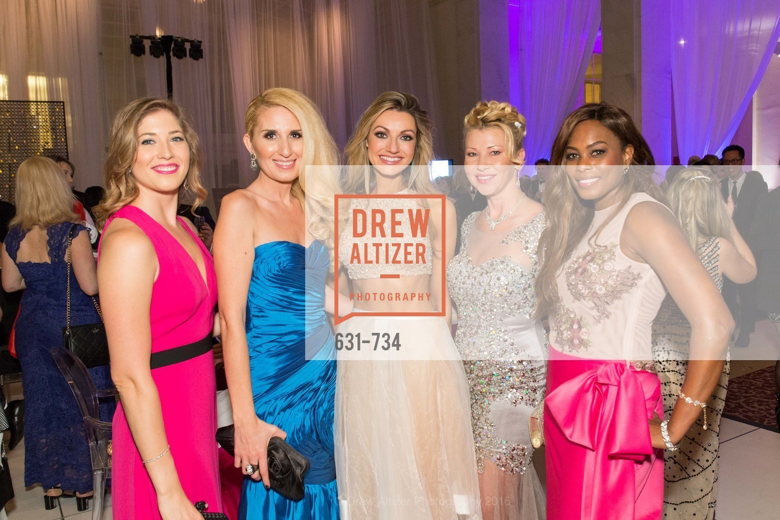 Cecily Olson, Victoria Weatherford, Filiz Caglayan, Marie Carr Hadley, Lena Gikkas, Vanessa Jean-Baptiste, San Francisco Ballet 2016 ENCORE! Opening Night Gala, San Francisco City Hall. 1 Dr Carlton B Goodlett Pl, January 21st, 2016,Drew Altizer, Drew Altizer Photography, full-service agency, private events, San Francisco photographer, photographer california