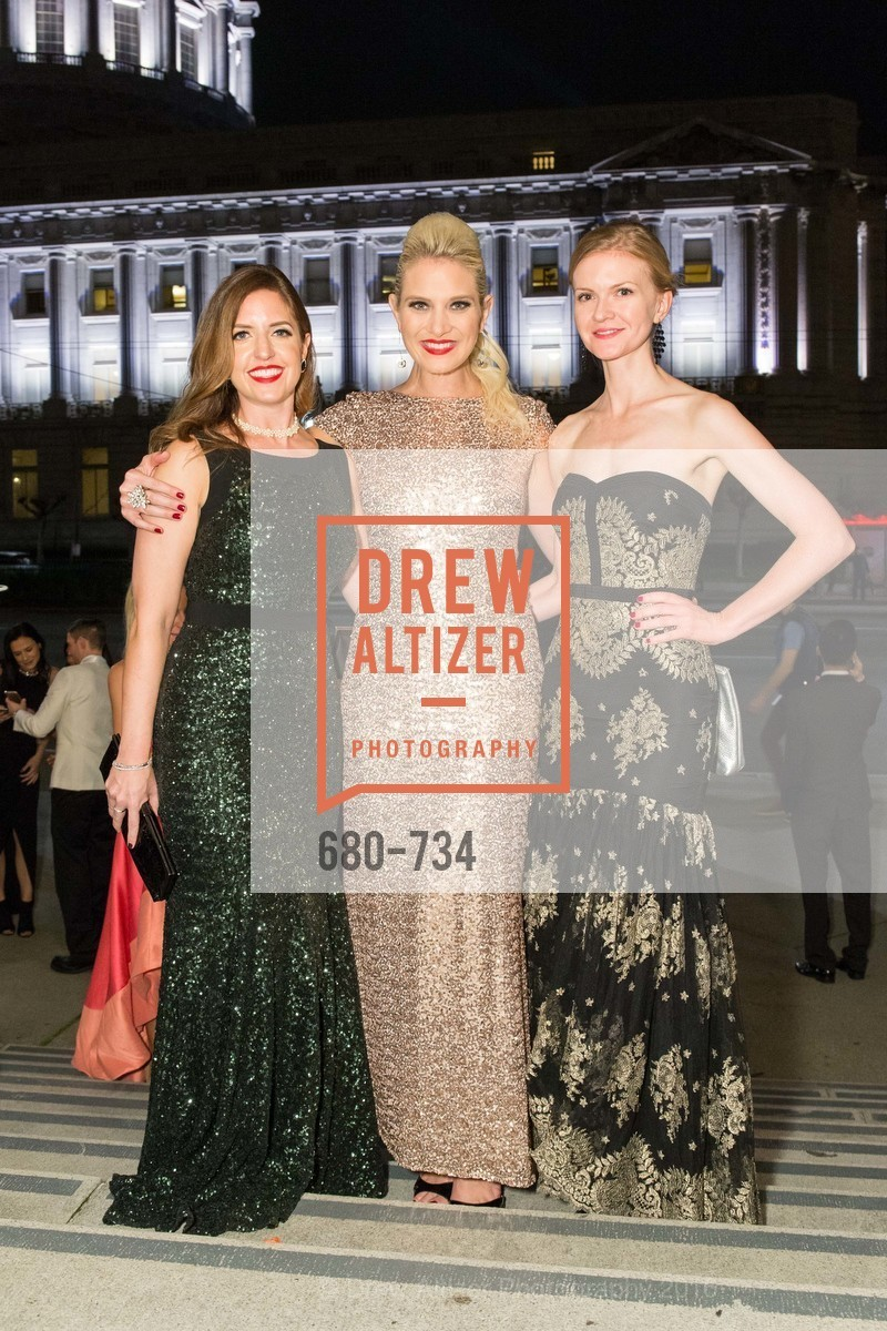 Shawna McDonald, Susan Warren, Greer Goings, San Francisco Ballet 2016 ENCORE! Opening Night Gala, San Francisco City Hall. 1 Dr Carlton B Goodlett Pl, January 21st, 2016,Drew Altizer, Drew Altizer Photography, full-service event agency, private events, San Francisco photographer, photographer California