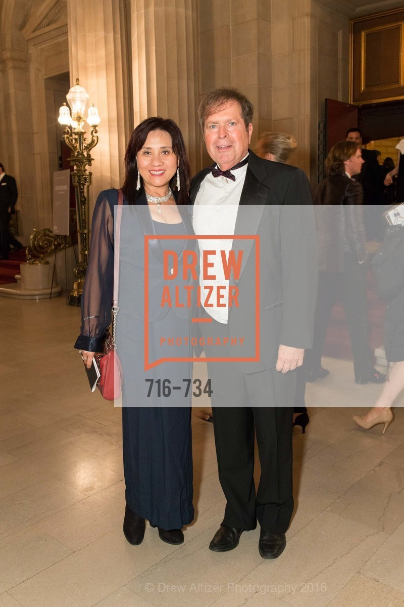 Vicky Feng, Steve Grubb, San Francisco Ballet 2016 ENCORE! Opening Night Gala, San Francisco City Hall. 1 Dr Carlton B Goodlett Pl, January 21st, 2016,Drew Altizer, Drew Altizer Photography, full-service agency, private events, San Francisco photographer, photographer california