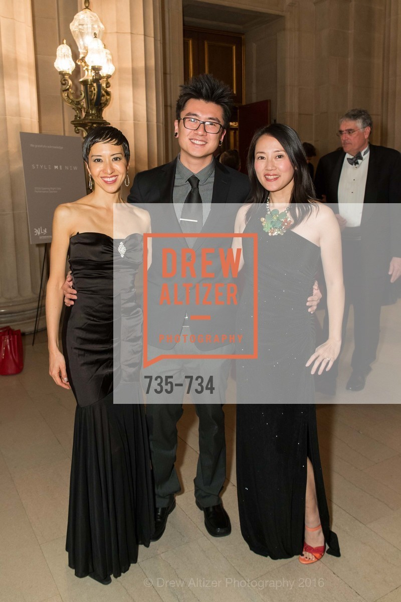 Maiko Shoda, Danny Wang, Yiqing Luo, San Francisco Ballet 2016 ENCORE! Opening Night Gala, San Francisco City Hall. 1 Dr Carlton B Goodlett Pl, January 21st, 2016,Drew Altizer, Drew Altizer Photography, full-service agency, private events, San Francisco photographer, photographer california