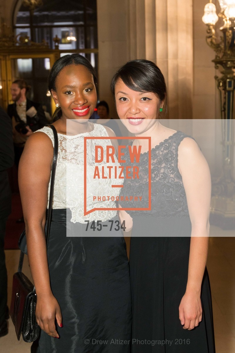 Makeda Robinson, Kristin Ngo, San Francisco Ballet 2016 ENCORE! Opening Night Gala, San Francisco City Hall. 1 Dr Carlton B Goodlett Pl, January 21st, 2016,Drew Altizer, Drew Altizer Photography, full-service agency, private events, San Francisco photographer, photographer california