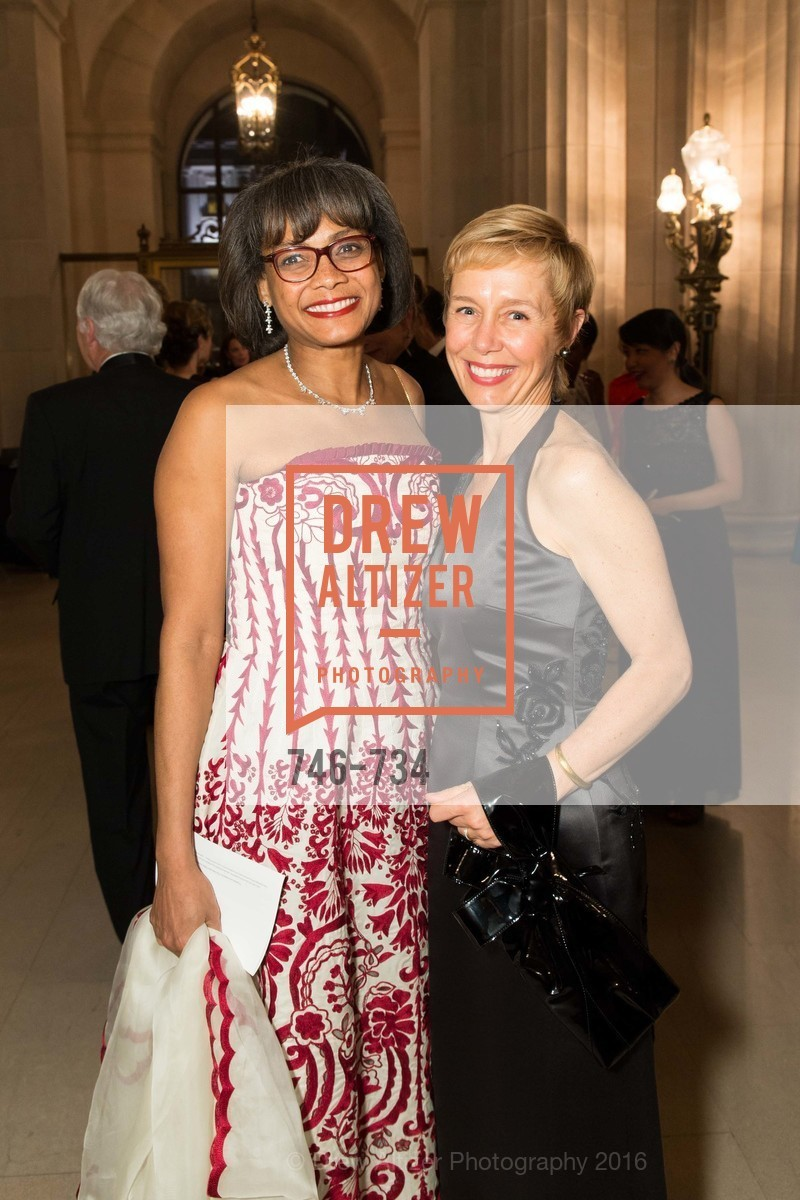 Karen Jenkins Johnson, Larissa Roesch, San Francisco Ballet 2016 ENCORE! Opening Night Gala, San Francisco City Hall. 1 Dr Carlton B Goodlett Pl, January 21st, 2016,Drew Altizer, Drew Altizer Photography, full-service agency, private events, San Francisco photographer, photographer california