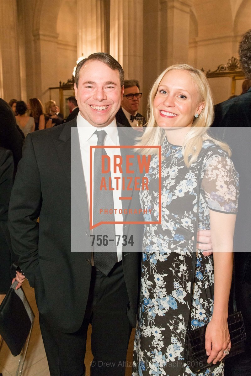 Michael Millman, Emily Millman, San Francisco Ballet 2016 ENCORE! Opening Night Gala, San Francisco City Hall. 1 Dr Carlton B Goodlett Pl, January 21st, 2016,Drew Altizer, Drew Altizer Photography, full-service agency, private events, San Francisco photographer, photographer california
