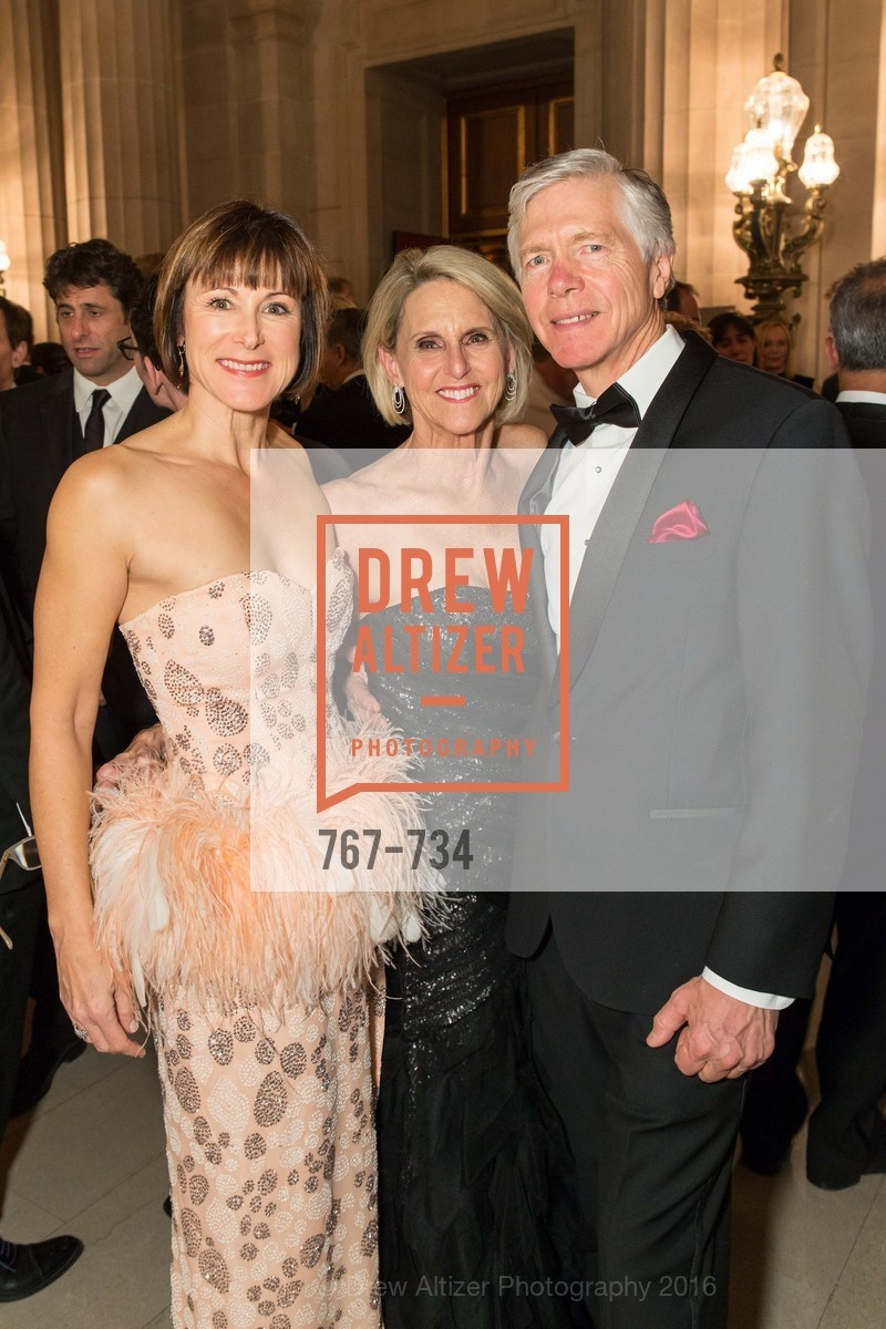Gabrielle Tierney, Freddi Wilkinson, Joe Losch, San Francisco Ballet 2016 ENCORE! Opening Night Gala, San Francisco City Hall. 1 Dr Carlton B Goodlett Pl, January 21st, 2016,Drew Altizer, Drew Altizer Photography, full-service agency, private events, San Francisco photographer, photographer california