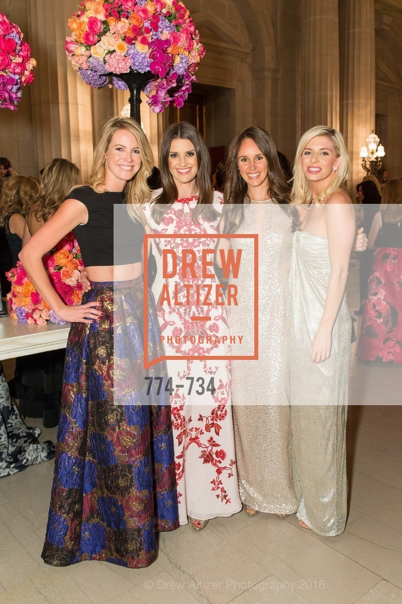 Carly Chamberlin, Meredith Kendall, Kristin Brian, Kate Jorgensen, San Francisco Ballet 2016 ENCORE! Opening Night Gala, San Francisco City Hall. 1 Dr Carlton B Goodlett Pl, January 21st, 2016,Drew Altizer, Drew Altizer Photography, full-service event agency, private events, San Francisco photographer, photographer California