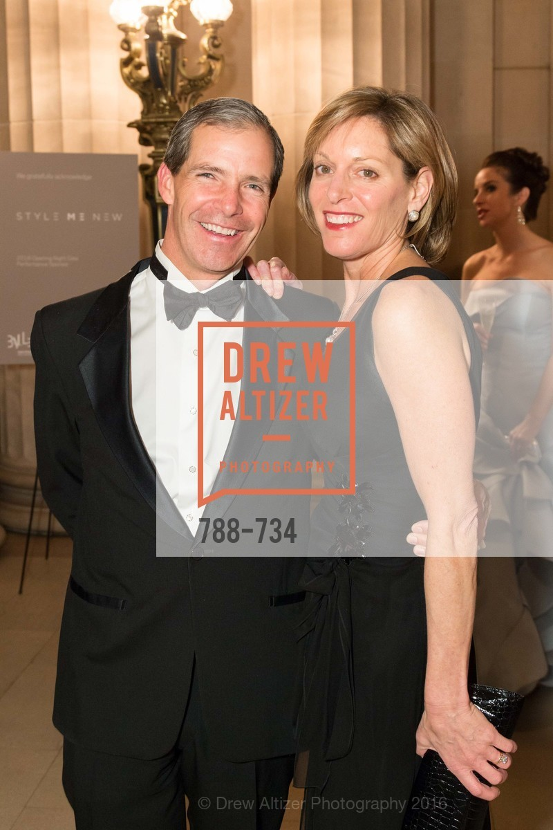 Greg Flynn, Julie Flynn, San Francisco Ballet 2016 ENCORE! Opening Night Gala, San Francisco City Hall. 1 Dr Carlton B Goodlett Pl, January 21st, 2016,Drew Altizer, Drew Altizer Photography, full-service agency, private events, San Francisco photographer, photographer california