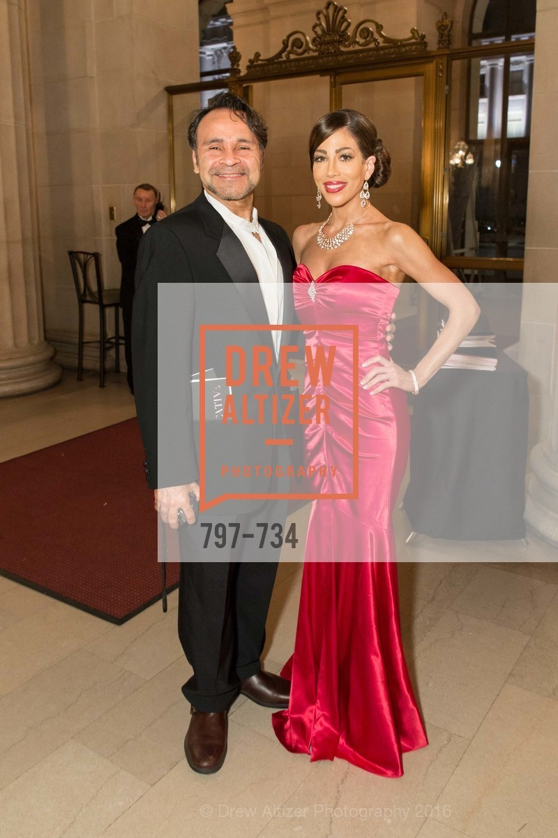 Francisco Avellan, Athena Palombi, San Francisco Ballet 2016 ENCORE! Opening Night Gala, San Francisco City Hall. 1 Dr Carlton B Goodlett Pl, January 21st, 2016,Drew Altizer, Drew Altizer Photography, full-service agency, private events, San Francisco photographer, photographer california