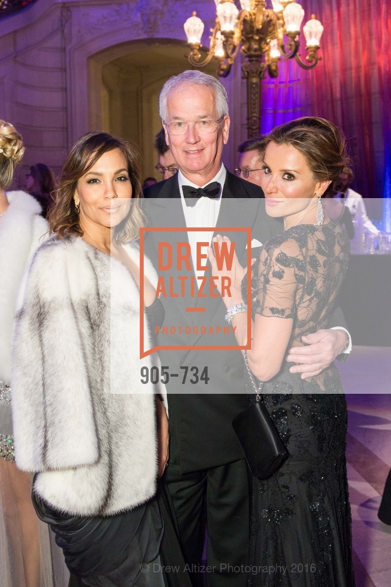 Lora DuBain, Mark Pederson, Claudia Ross, San Francisco Ballet 2016 ENCORE! Opening Night Gala, San Francisco City Hall. 1 Dr Carlton B Goodlett Pl, January 21st, 2016,Drew Altizer, Drew Altizer Photography, full-service agency, private events, San Francisco photographer, photographer california
