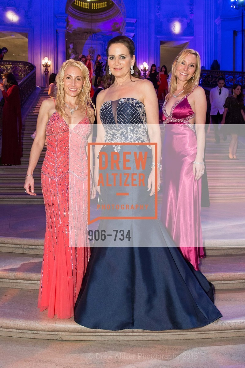 Robin Farmanfarmaian, Jane Burkhard, Valentina Morigi, San Francisco Ballet 2016 ENCORE! Opening Night Gala, San Francisco City Hall. 1 Dr Carlton B Goodlett Pl, January 21st, 2016,Drew Altizer, Drew Altizer Photography, full-service agency, private events, San Francisco photographer, photographer california