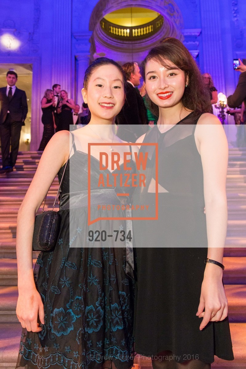 Michelle Liu, June Restigan, San Francisco Ballet 2016 ENCORE! Opening Night Gala, San Francisco City Hall. 1 Dr Carlton B Goodlett Pl, January 21st, 2016,Drew Altizer, Drew Altizer Photography, full-service agency, private events, San Francisco photographer, photographer california