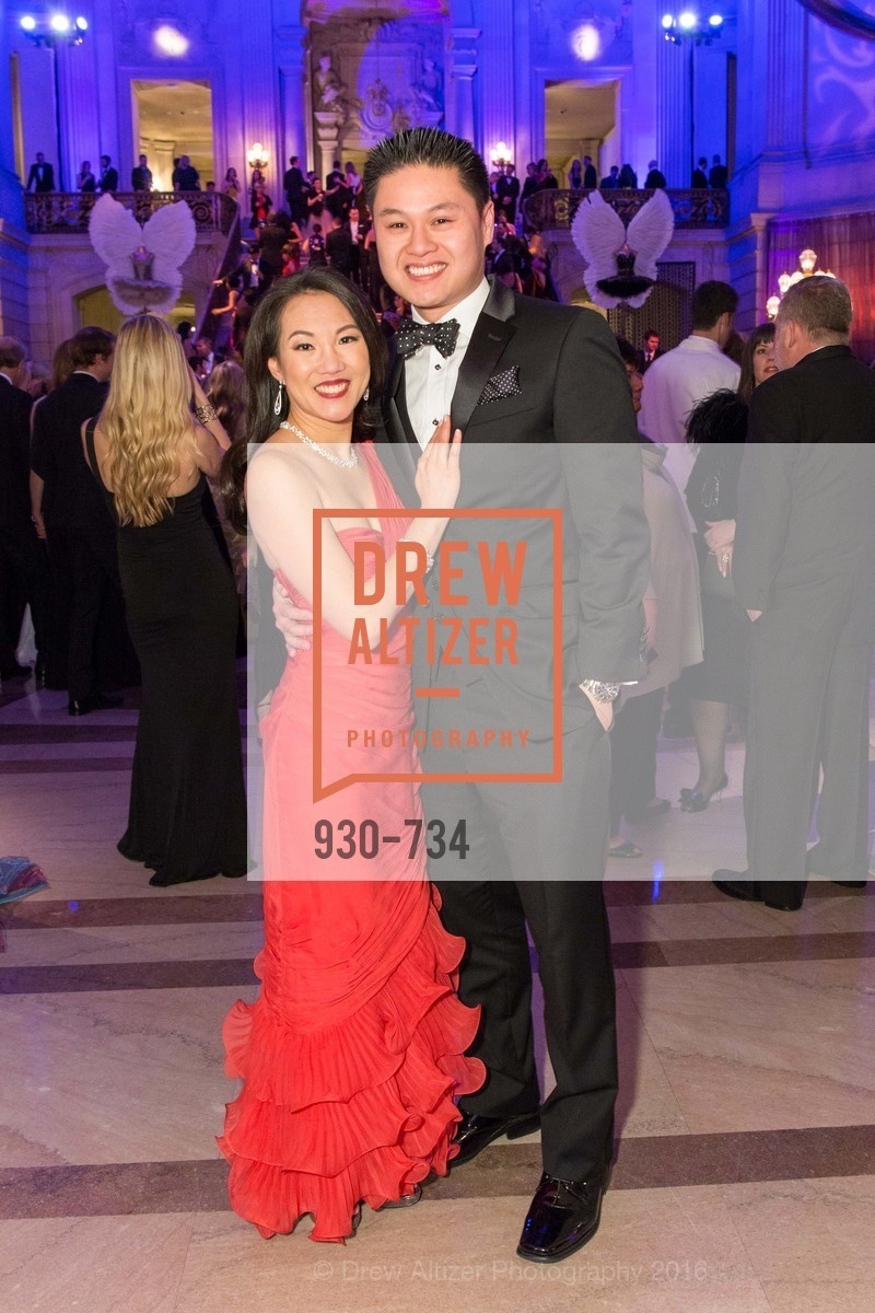 Jasmine Yep Huynh, Joseph Huynh, San Francisco Ballet 2016 ENCORE! Opening Night Gala, San Francisco City Hall. 1 Dr Carlton B Goodlett Pl, January 21st, 2016,Drew Altizer, Drew Altizer Photography, full-service agency, private events, San Francisco photographer, photographer california