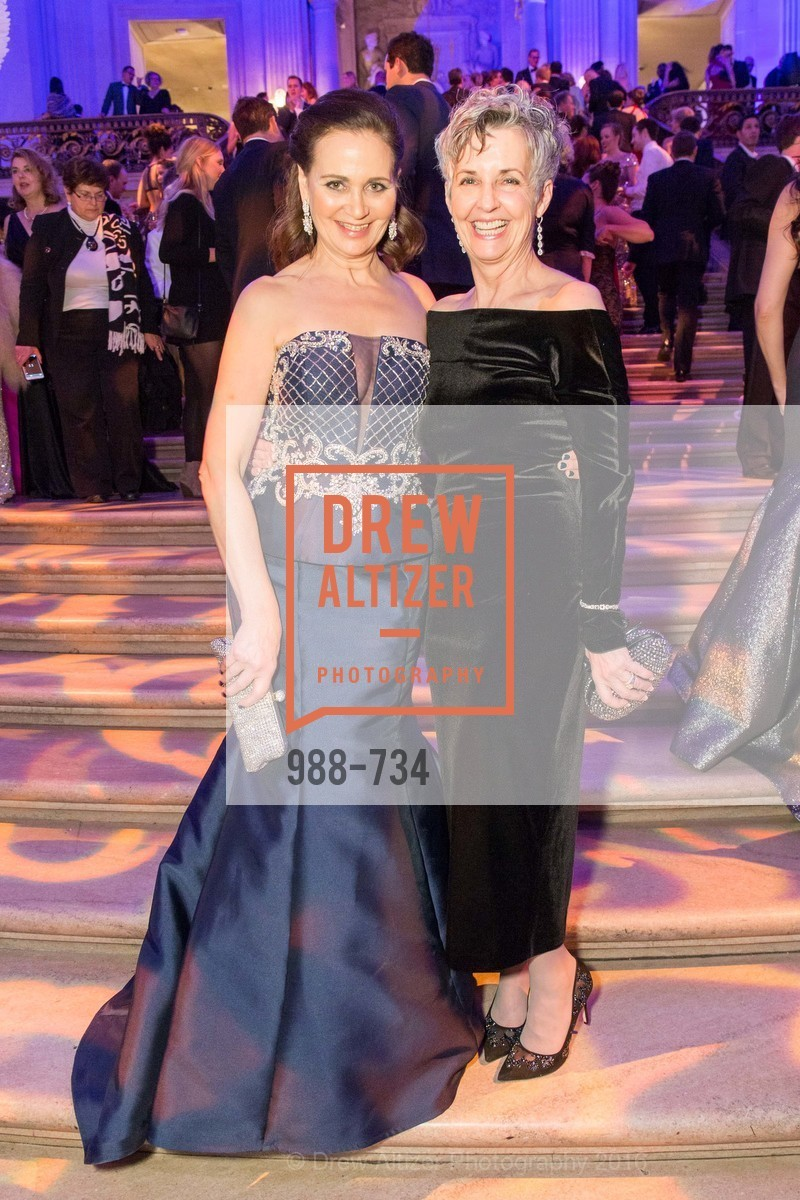 Jane Burkhard, Mary Mewha, San Francisco Ballet 2016 ENCORE! Opening Night Gala, San Francisco City Hall. 1 Dr Carlton B Goodlett Pl, January 21st, 2016,Drew Altizer, Drew Altizer Photography, full-service agency, private events, San Francisco photographer, photographer california