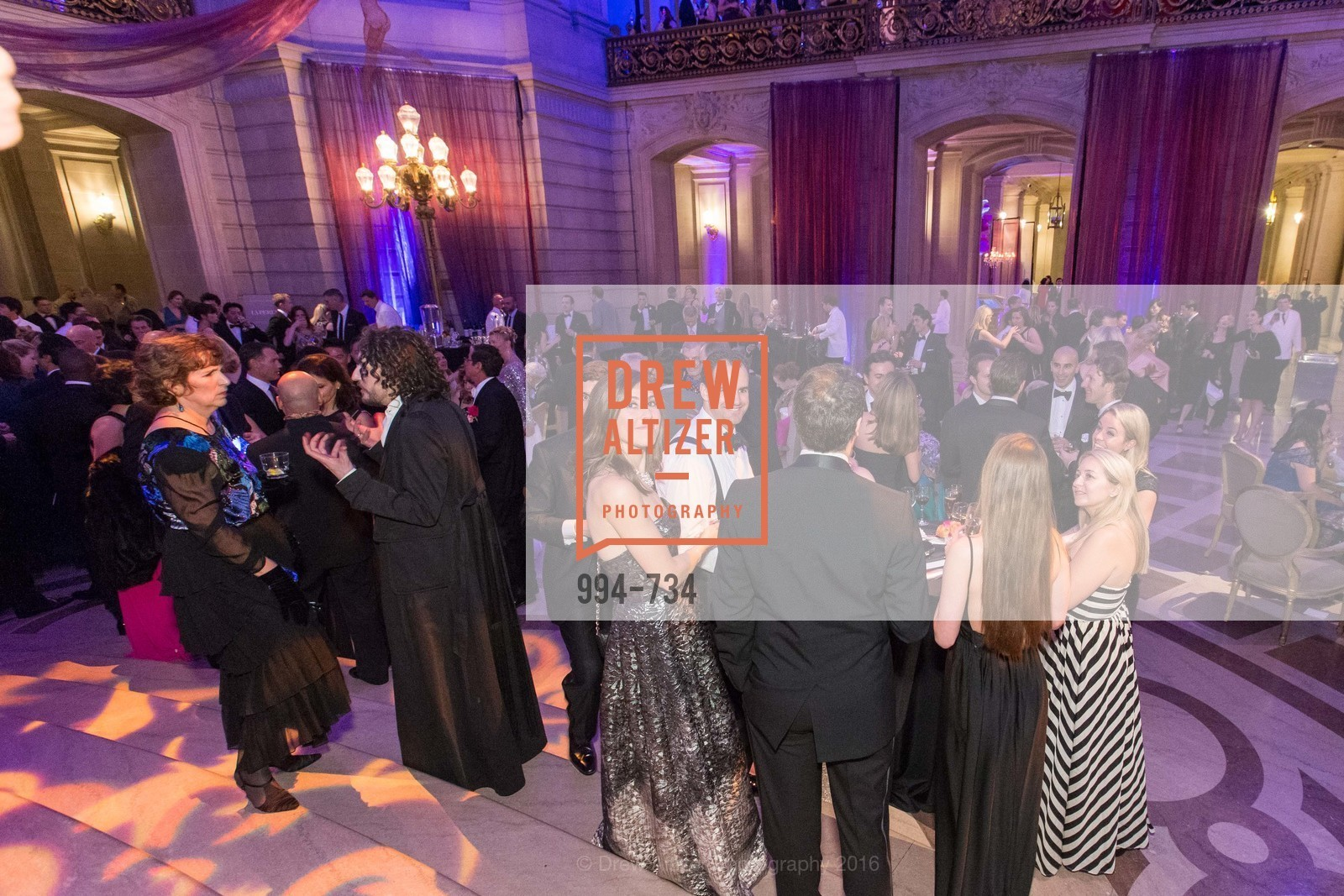 Atmosphere, San Francisco Ballet 2016 ENCORE! Opening Night Gala, San Francisco City Hall. 1 Dr Carlton B Goodlett Pl, January 21st, 2016,Drew Altizer, Drew Altizer Photography, full-service event agency, private events, San Francisco photographer, photographer California