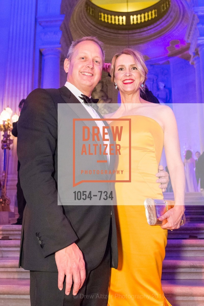 Mark Dempster, Kim Dempster, San Francisco Ballet 2016 ENCORE! Opening Night Gala, San Francisco City Hall. 1 Dr Carlton B Goodlett Pl, January 21st, 2016,Drew Altizer, Drew Altizer Photography, full-service agency, private events, San Francisco photographer, photographer california