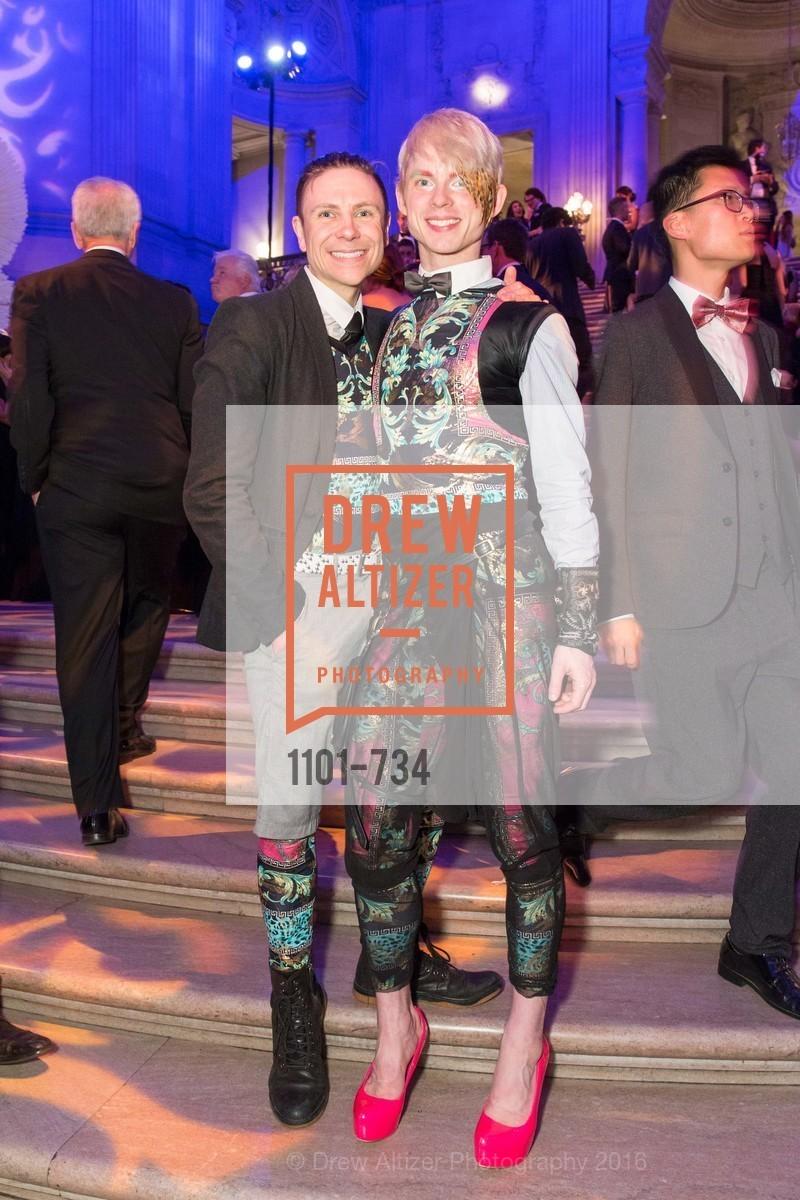 Robert Dekkers, Christian Squires, San Francisco Ballet 2016 ENCORE! Opening Night Gala, San Francisco City Hall. 1 Dr Carlton B Goodlett Pl, January 21st, 2016,Drew Altizer, Drew Altizer Photography, full-service agency, private events, San Francisco photographer, photographer california